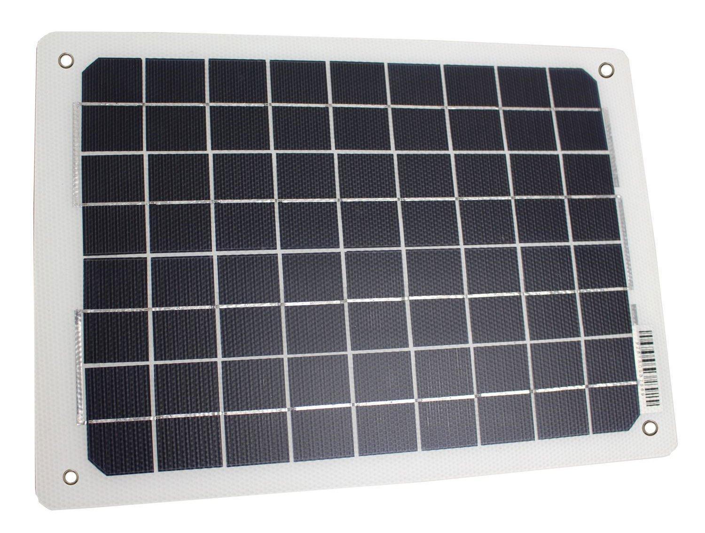 Falcon 10W Portable Solar Panel Battery Charger, NO COLOUR/PANEL
