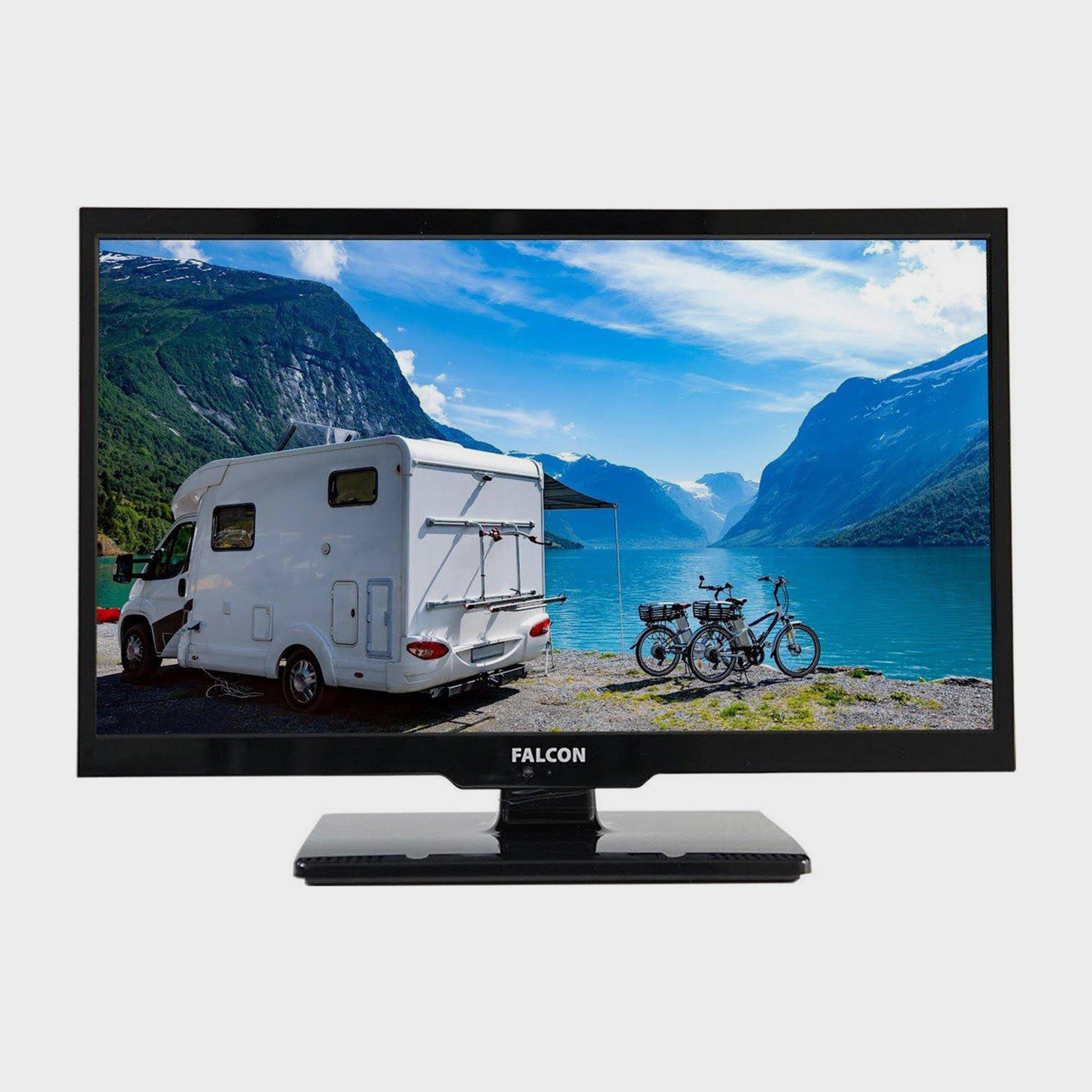 """Falcon 19"""" HD Travel TV with DVD, Freeview, Freesat, USB,, NO COLOUR/BLUE"""
