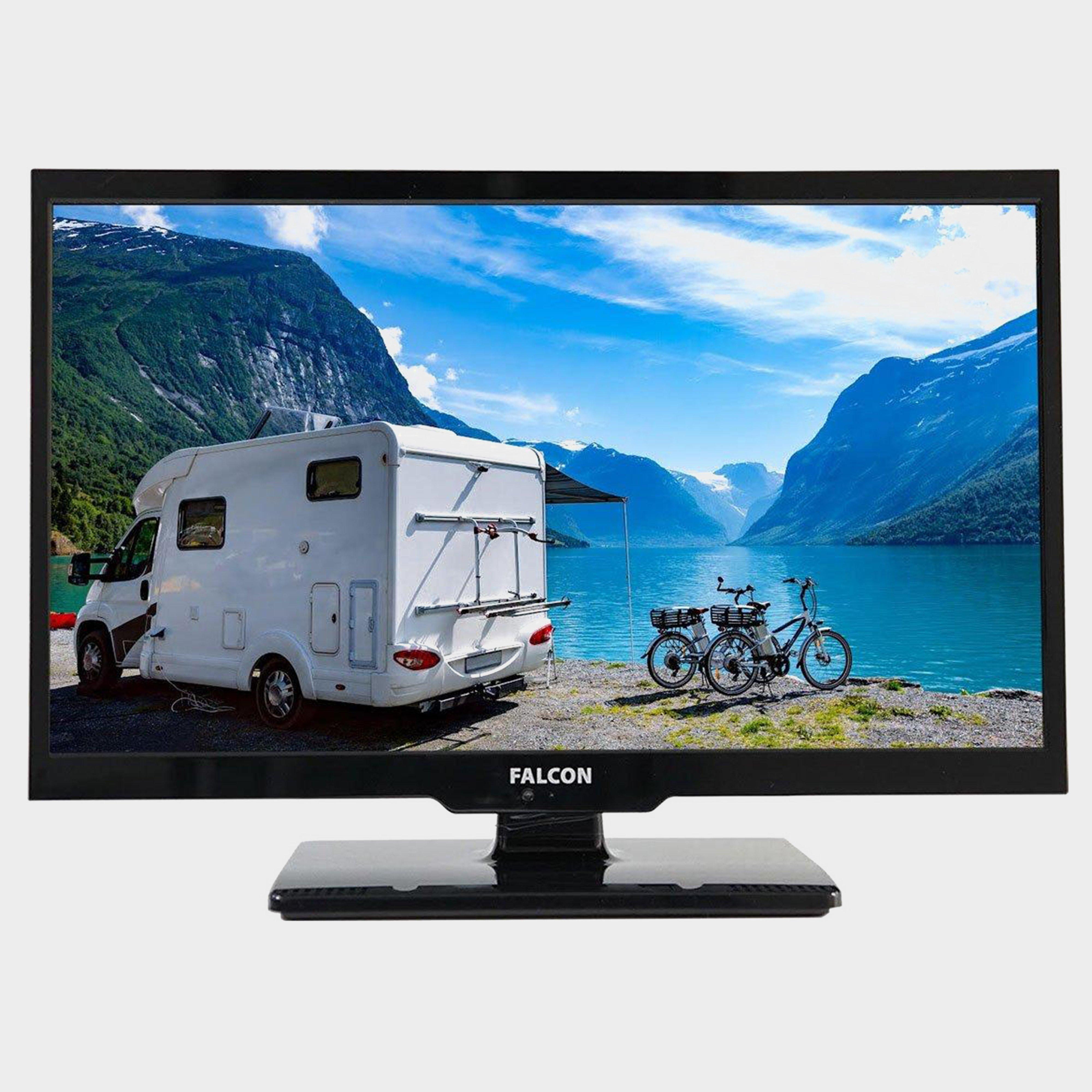 """Falcon 22"""" HD Travel TV with DVD, Freeview, Freesat, USB,, NO COLOUR/BLUETOO"""