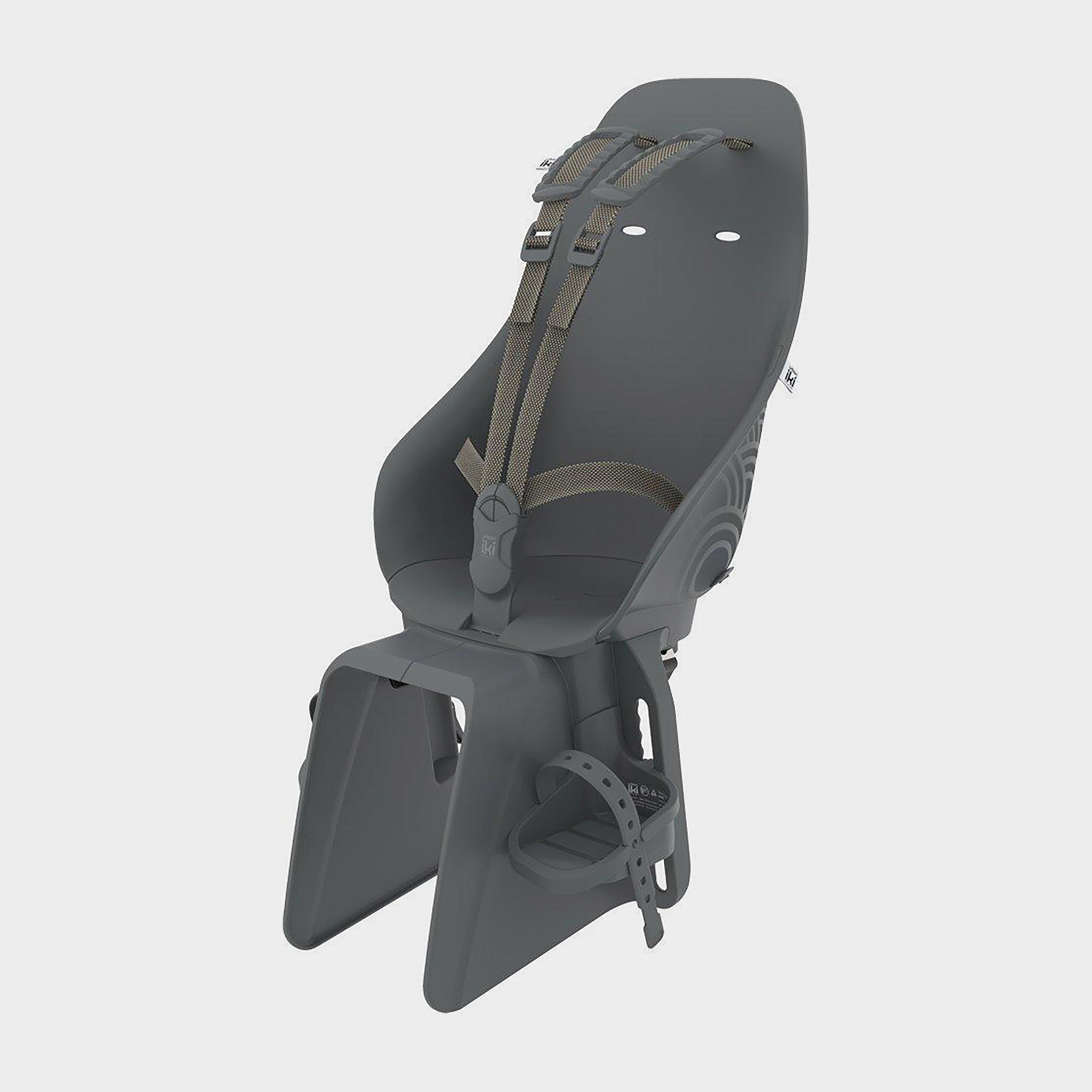 URBAN IKI Kids' Rear Bike Seat, BLACK/SEAT