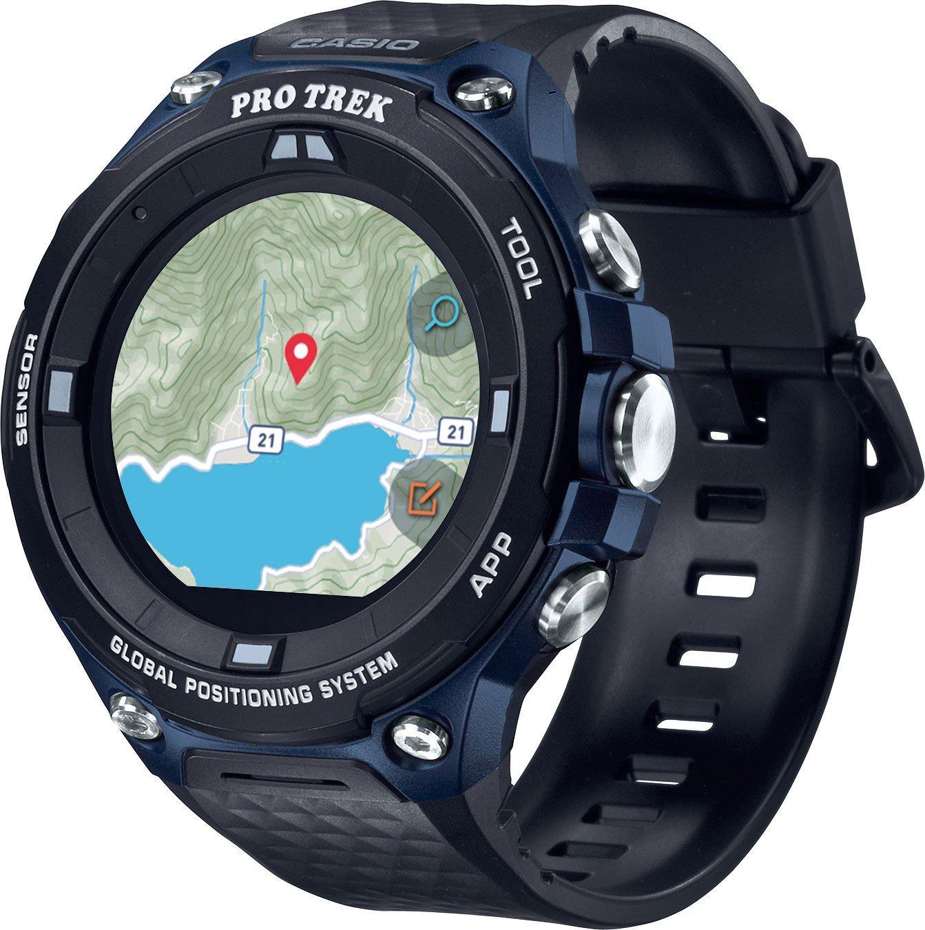 Casio WSD-F20 Pro Trek Smartwatch, F20A/F20A