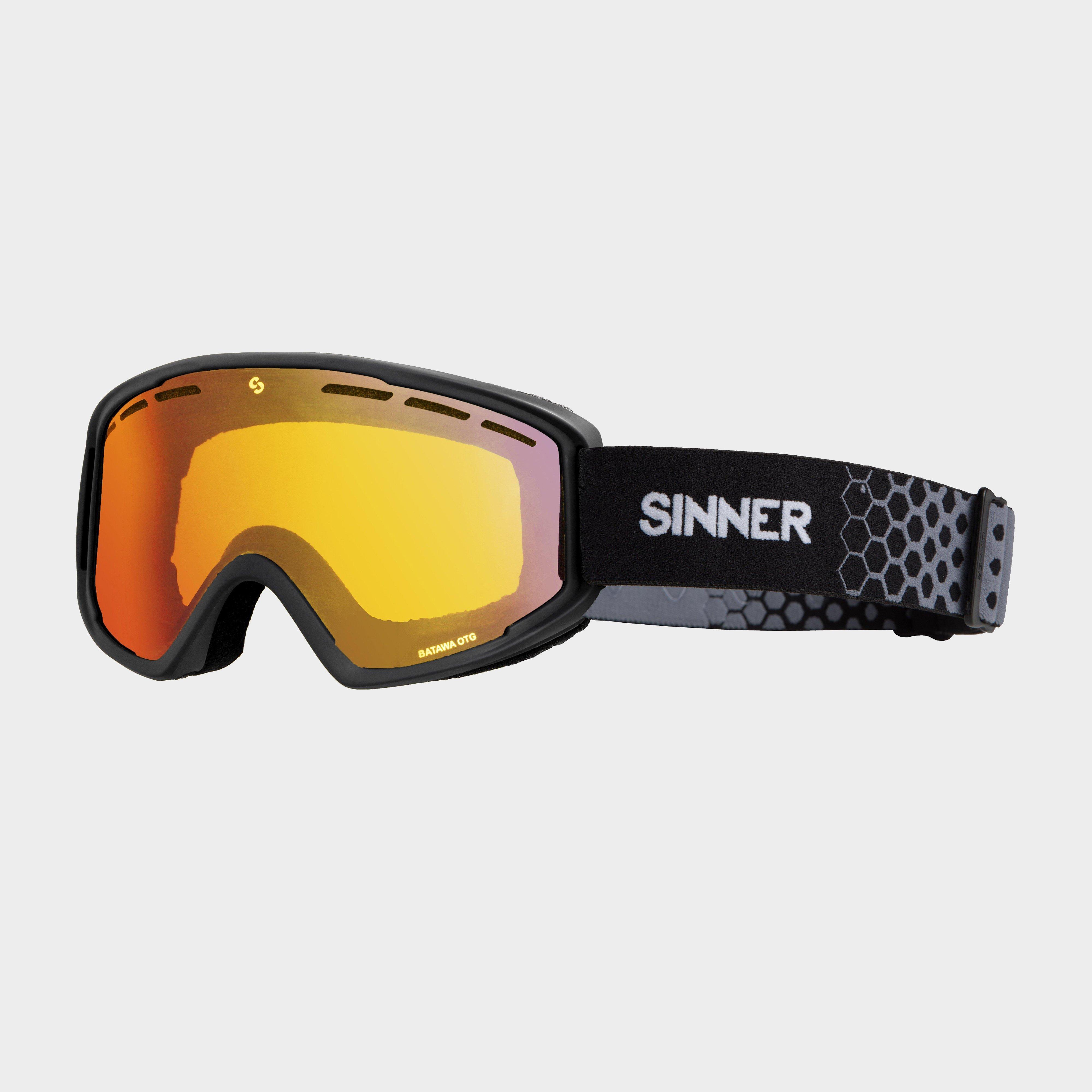 Sinner BATAWA OTG RED MIRROR Goggles, ORANGE/VEN