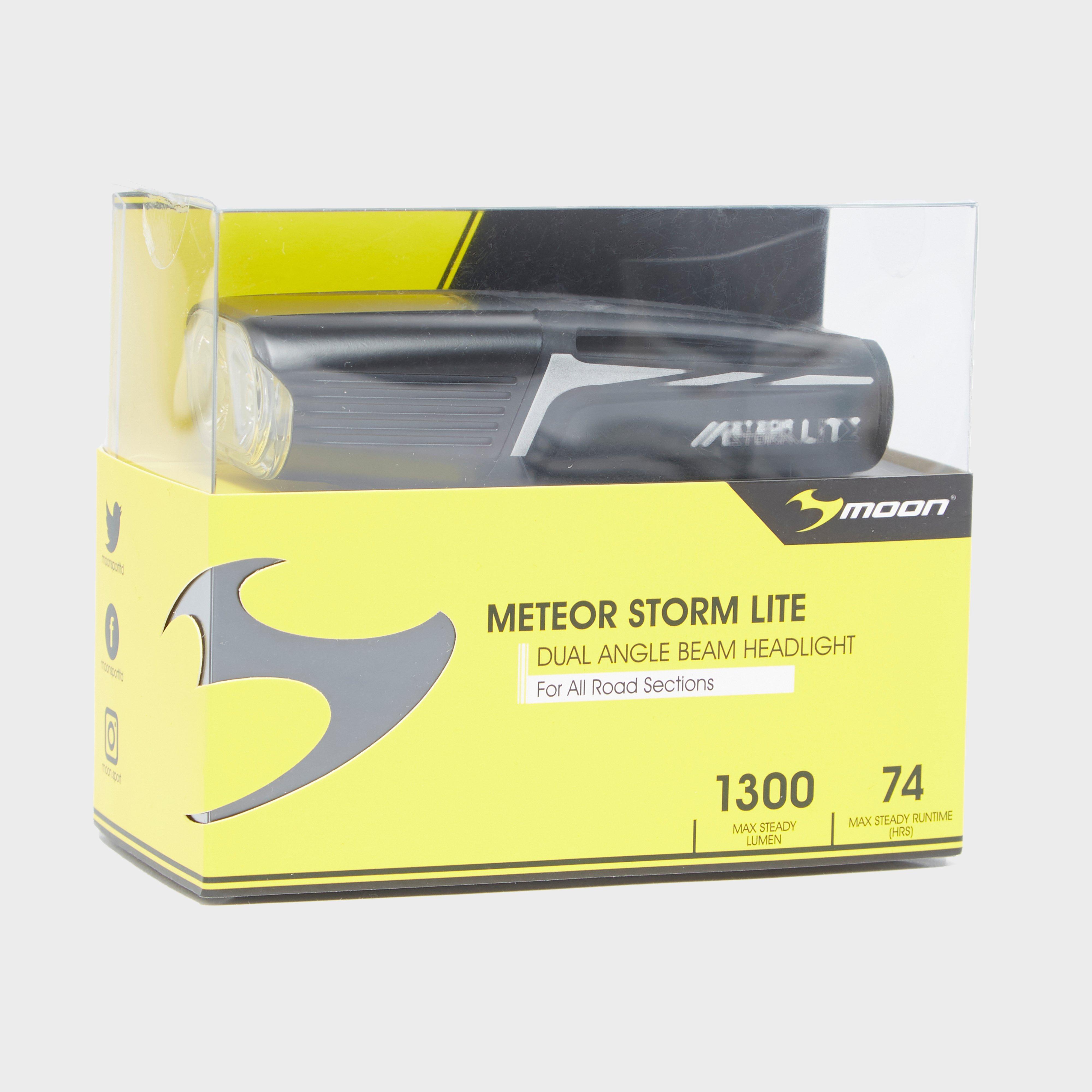 Moonlights Metor Storm Lite Front Bike Light, Grey