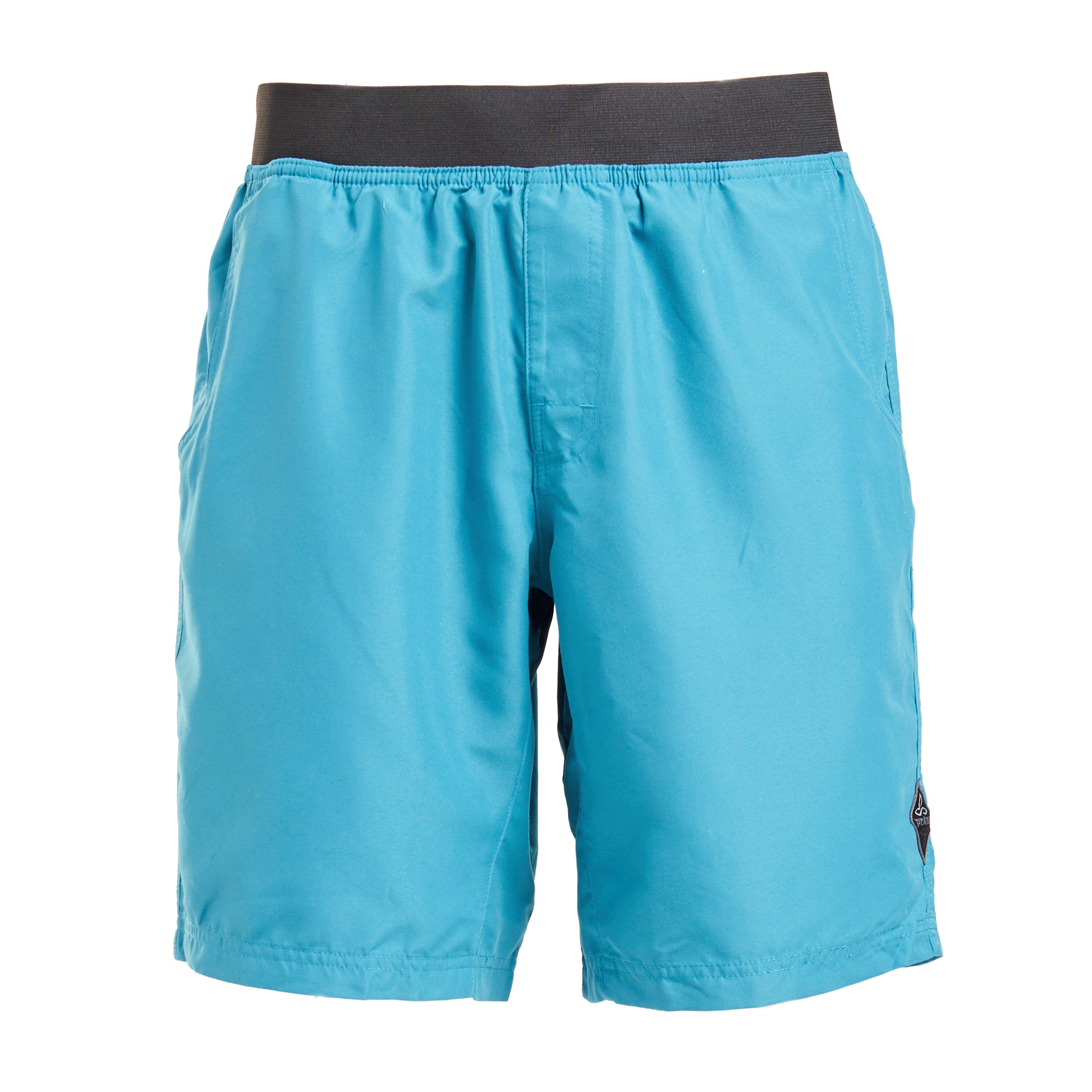 Prana Men's Mojo Climbing Shorts, Blue/SHORT