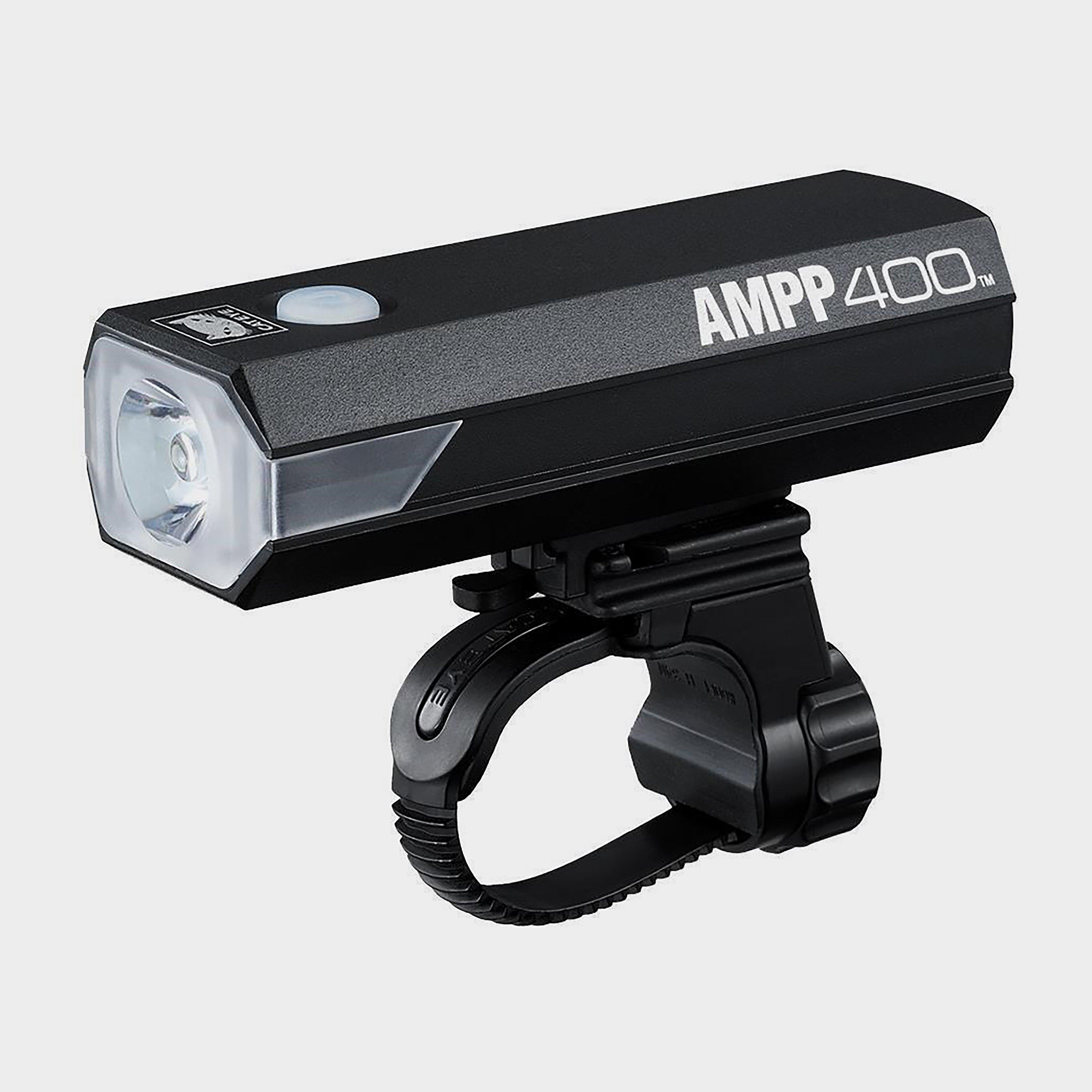 Cateye AMPP400 Front Bike Light, BLACK/NO