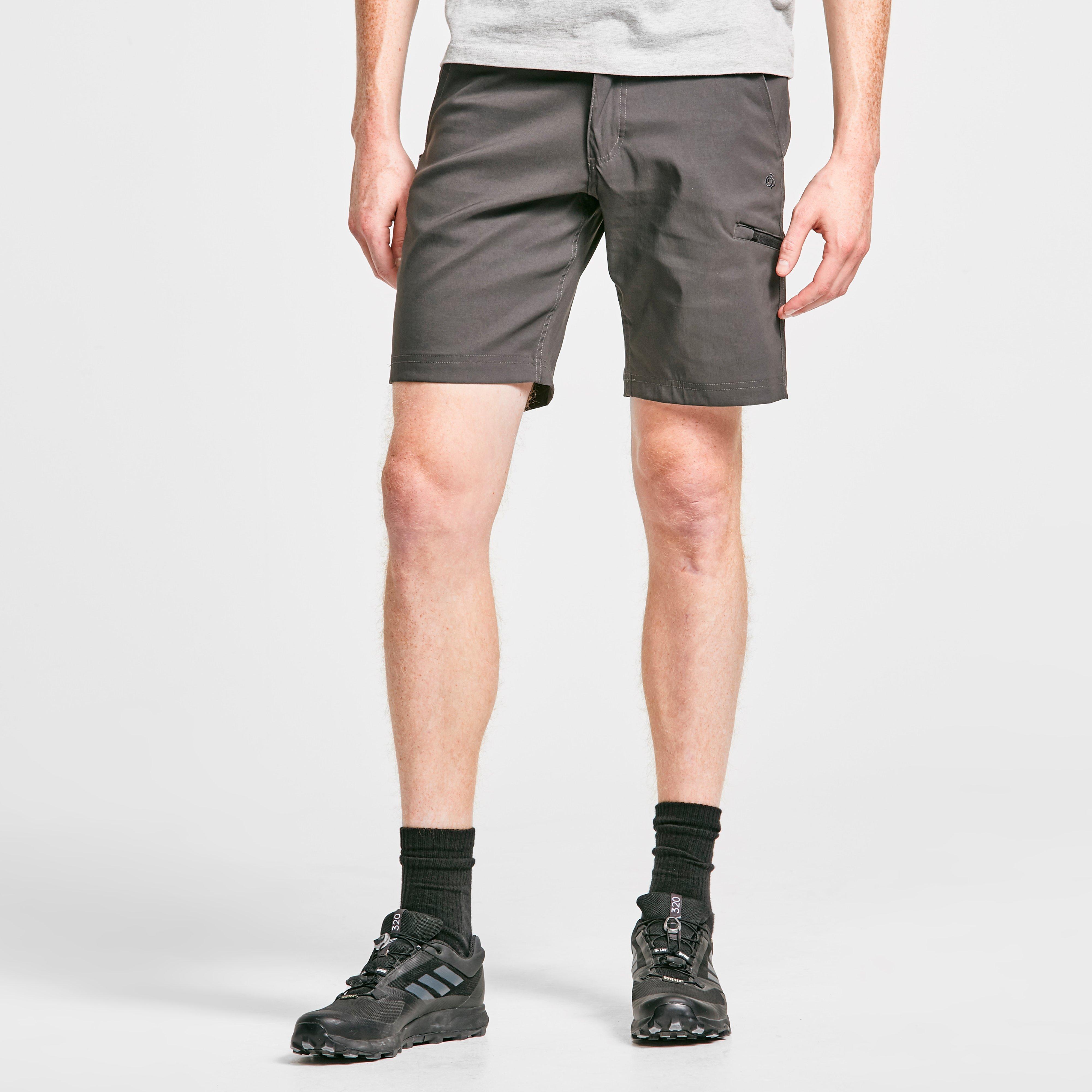 Craghoppers Men's Kiwi Pro Shorts, Dark grey/DGY$