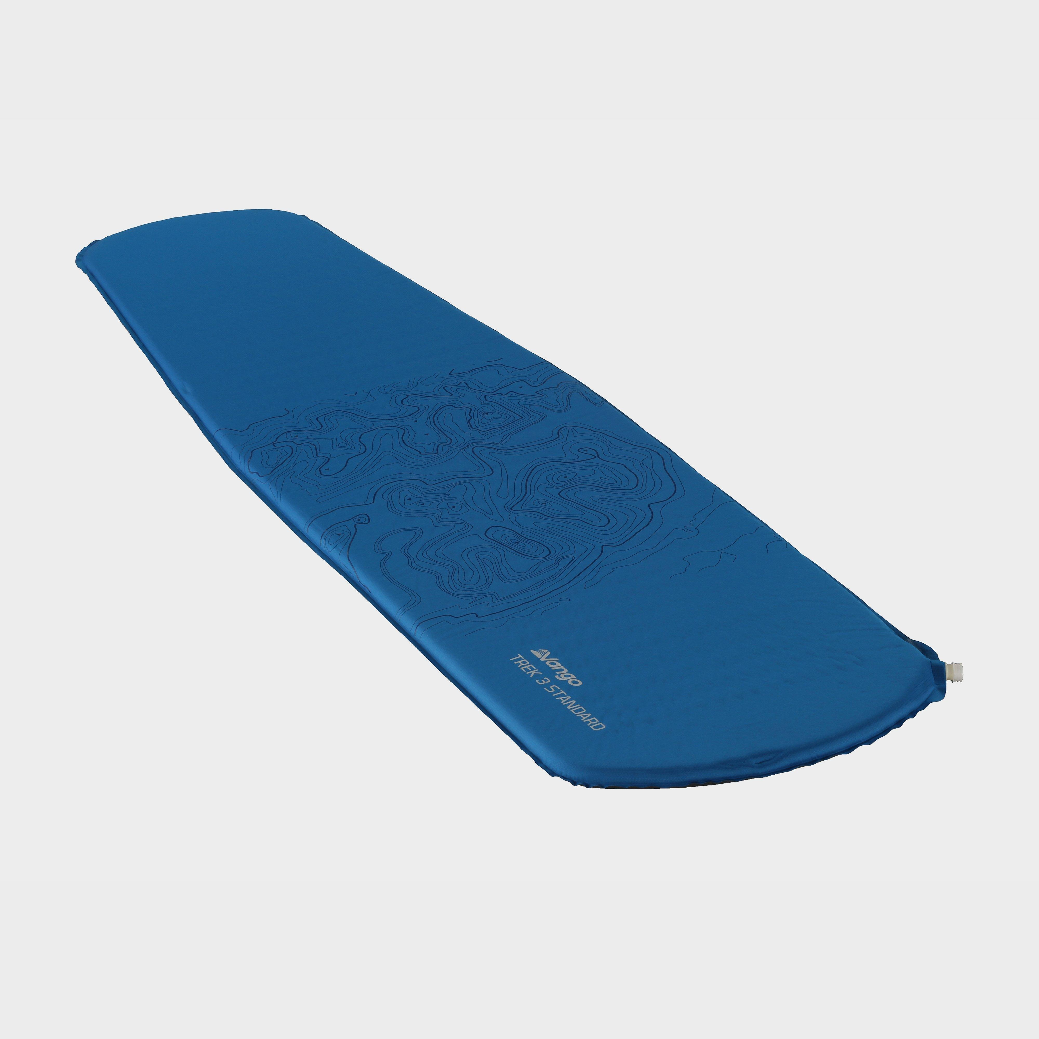 VANGO Trek 3 Standard Sleeping Mat, BLU/BLU