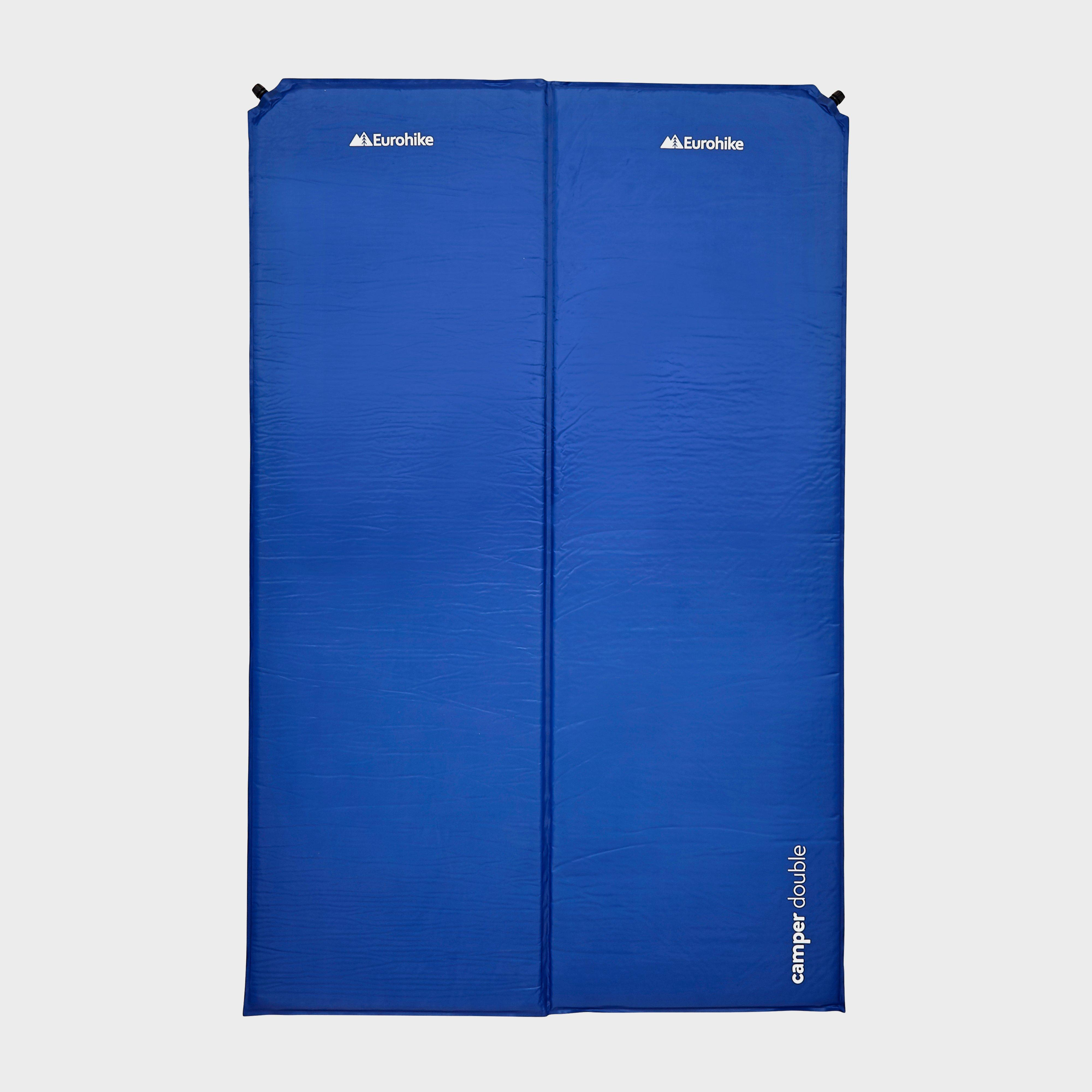 Eurohike Camper Double Self-Inflating Mat, Blue/MBL