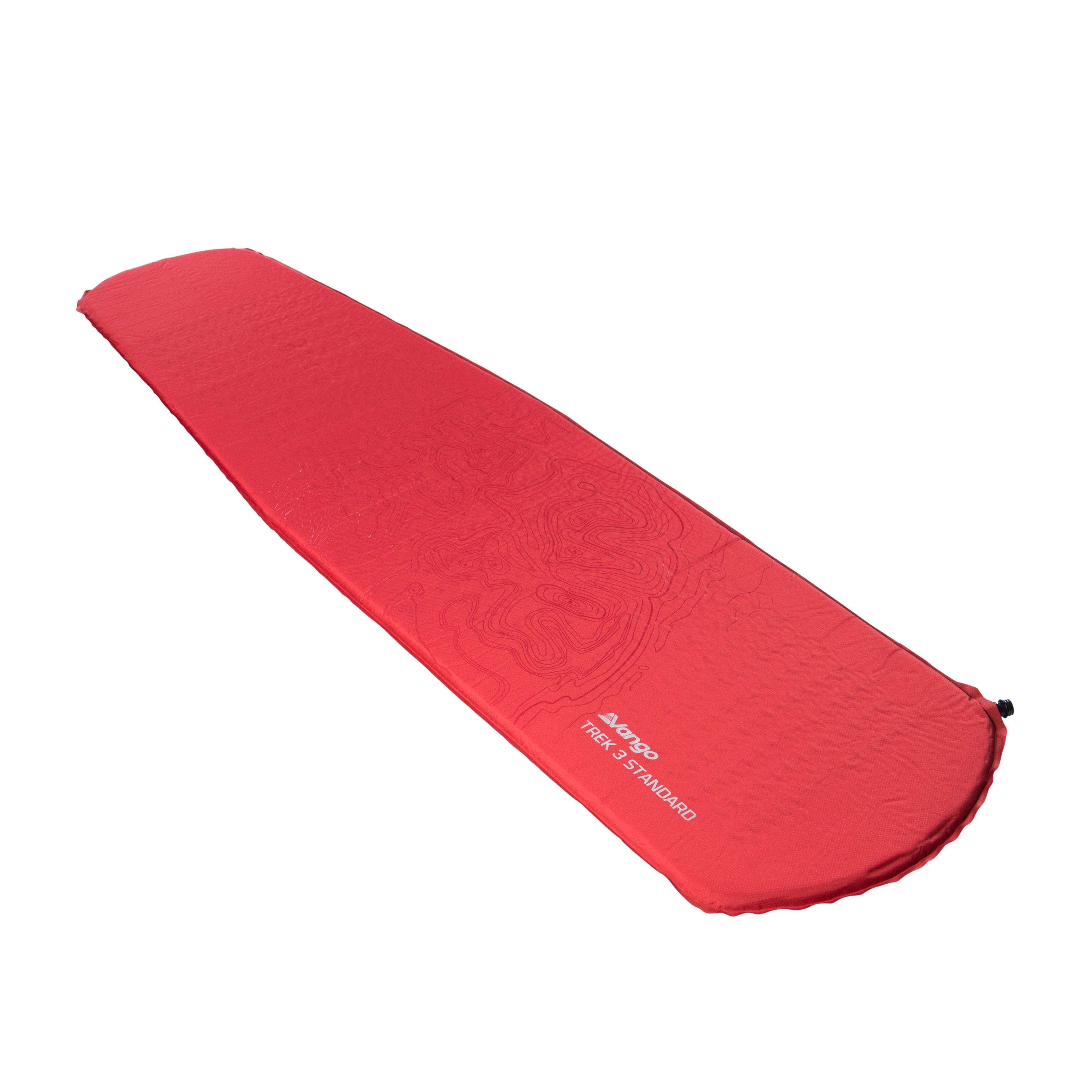 VANGO Trek 3 Sleeping Mat, RED/RED