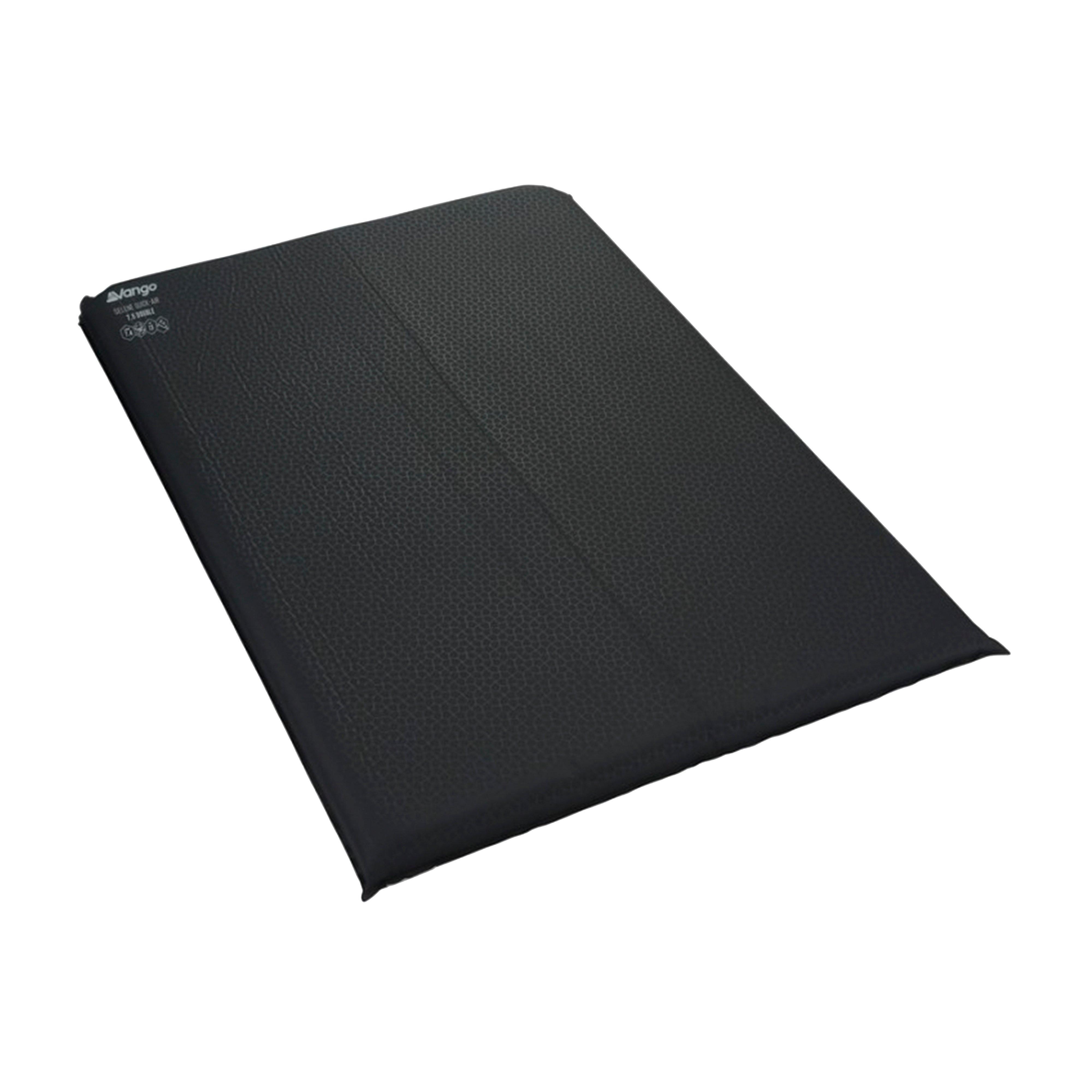 VANGO Selene Quick Air 7.5 Double Sleeping Mat, Grey/GRY