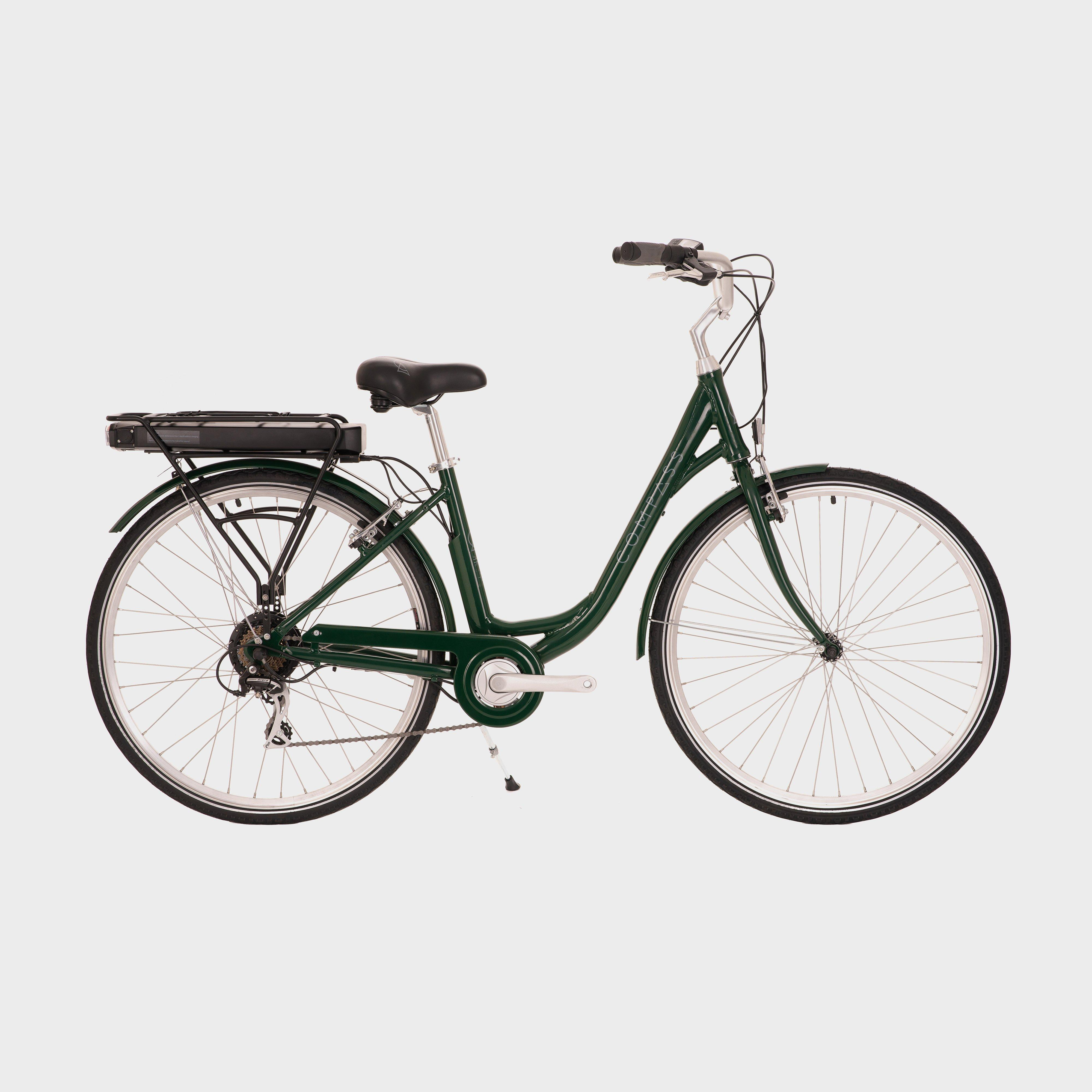 Compass Electric Town Bike, Green/GRN