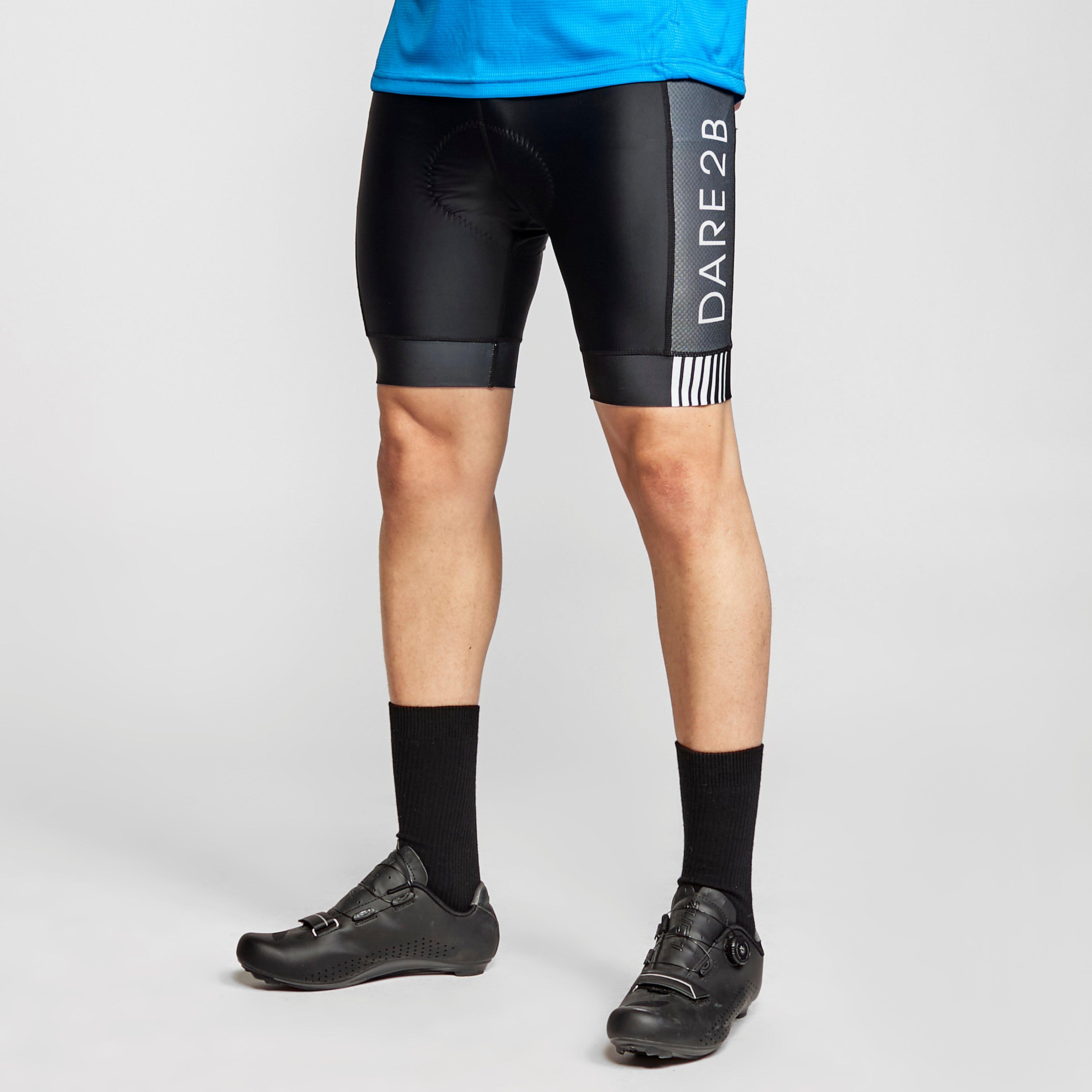 Dare 2B Men's Virtuosity Quick-Drying Cycling Shorts, BLK/BLK