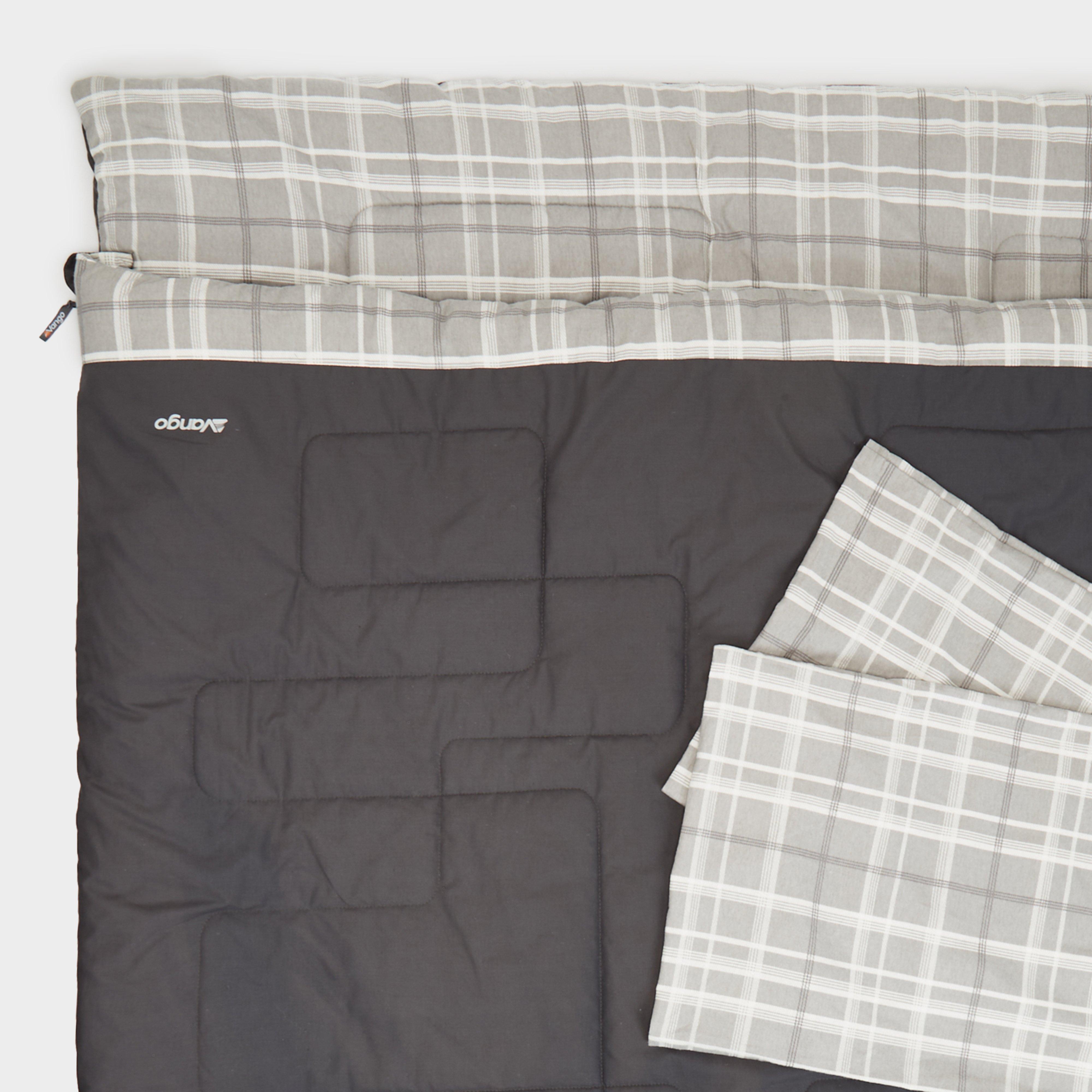 VANGO Selene Quick Air 7.5 King Double Sleeping Mat, Grey/VG