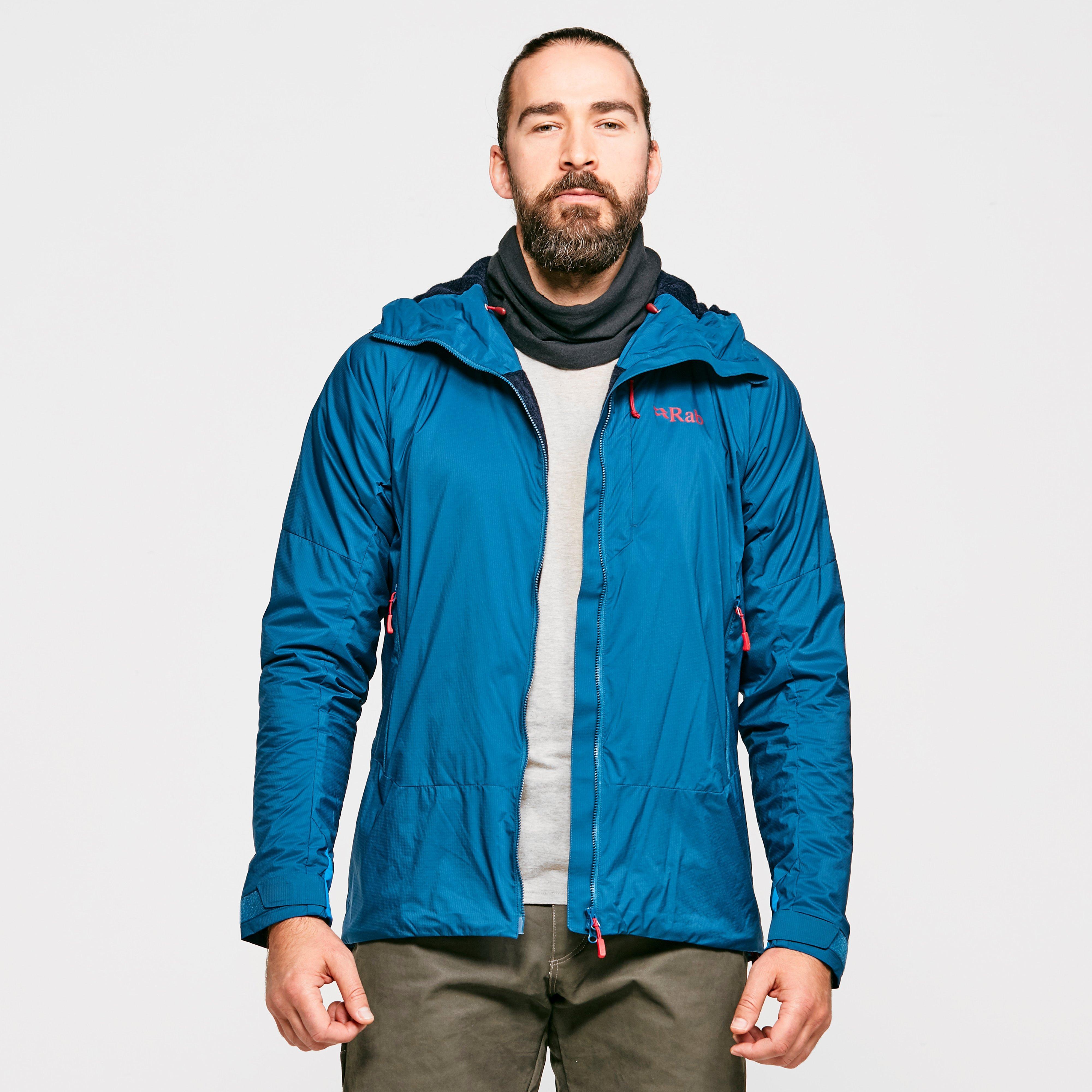 Rab Men's VR Summit Jacket, Blue/Blue