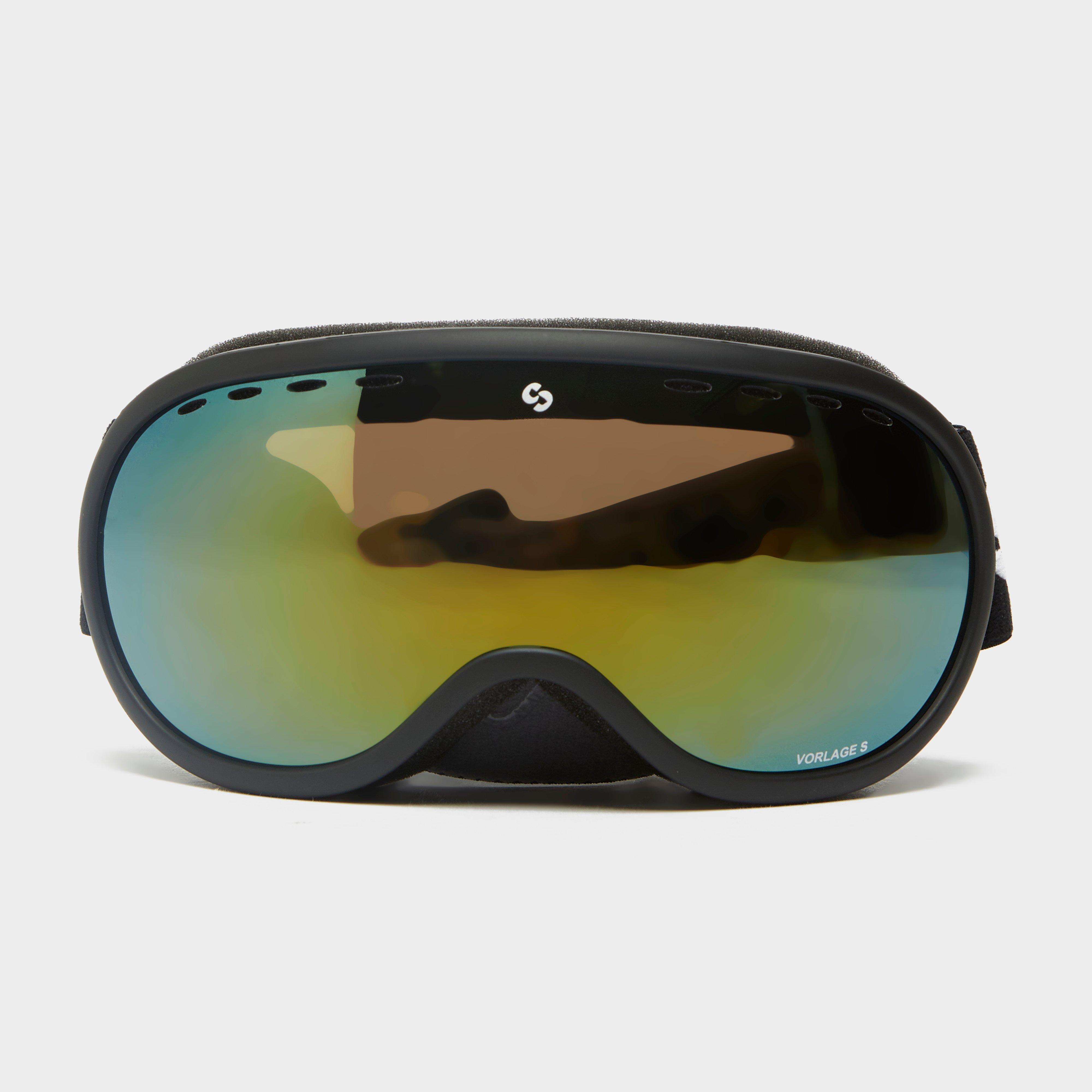 Sinner Vorlage S Goggles, Black/Black