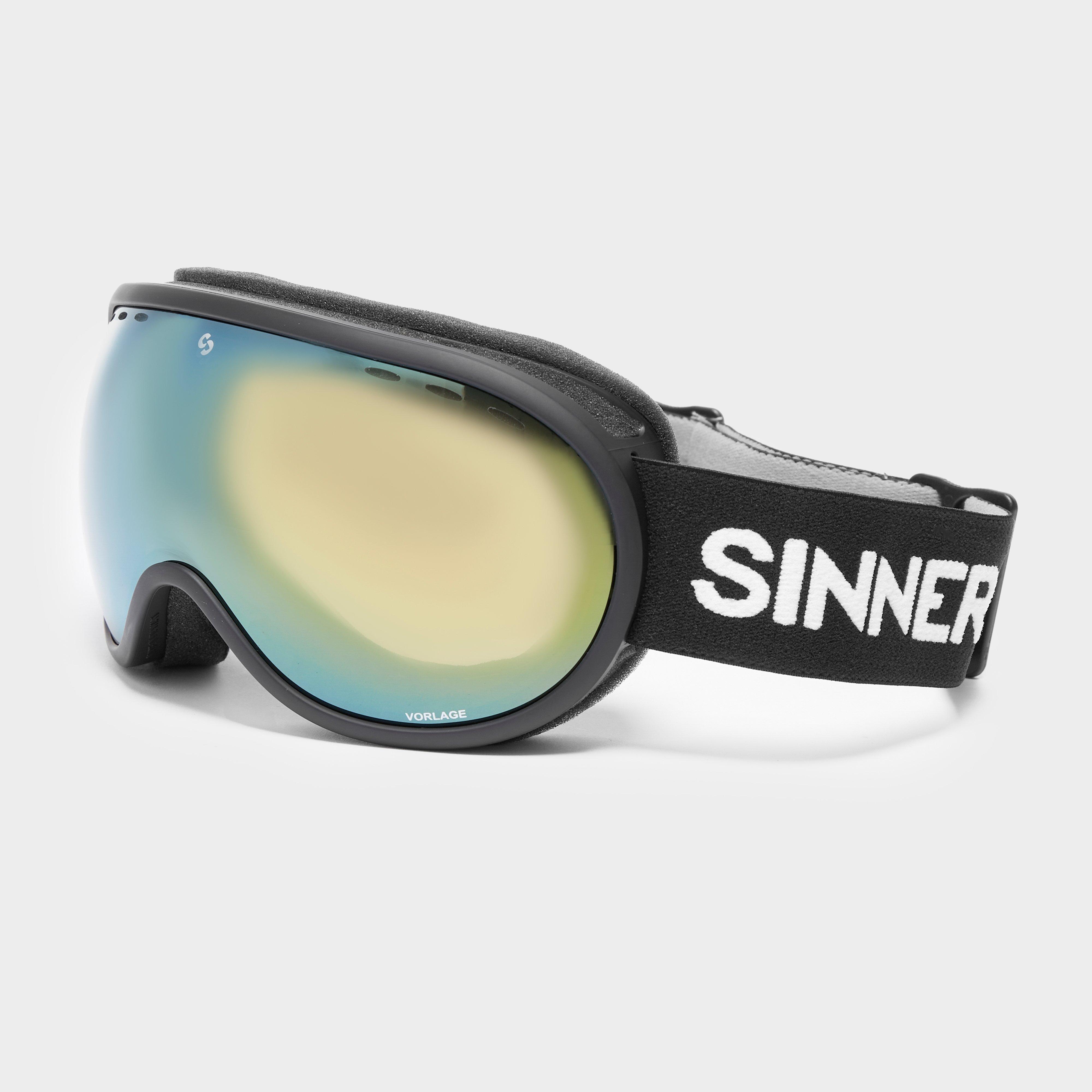 Sinner Vorlage Ski Goggles, Black/Orange