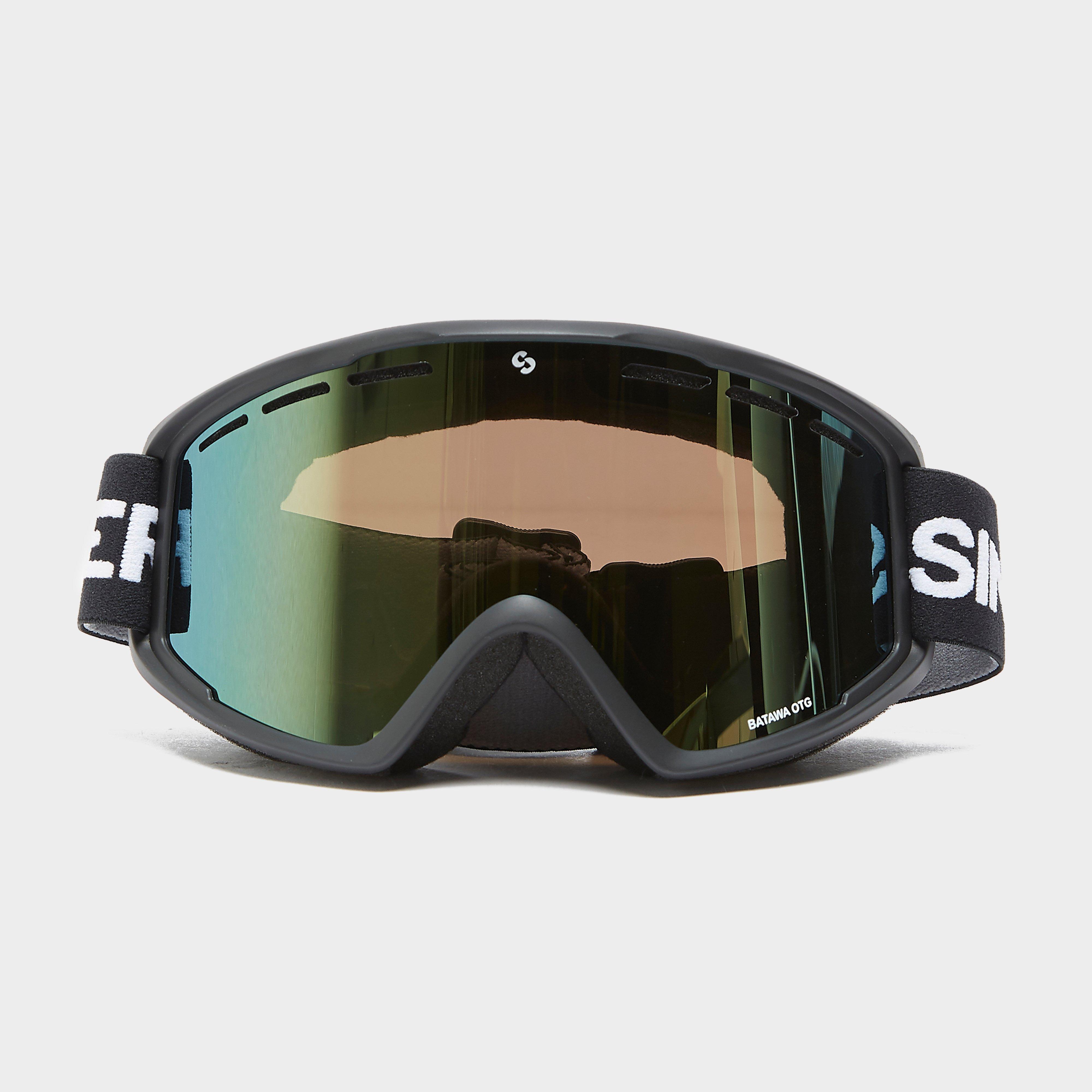 Sinner Batawa Ski Goggles OTG, Black/Black