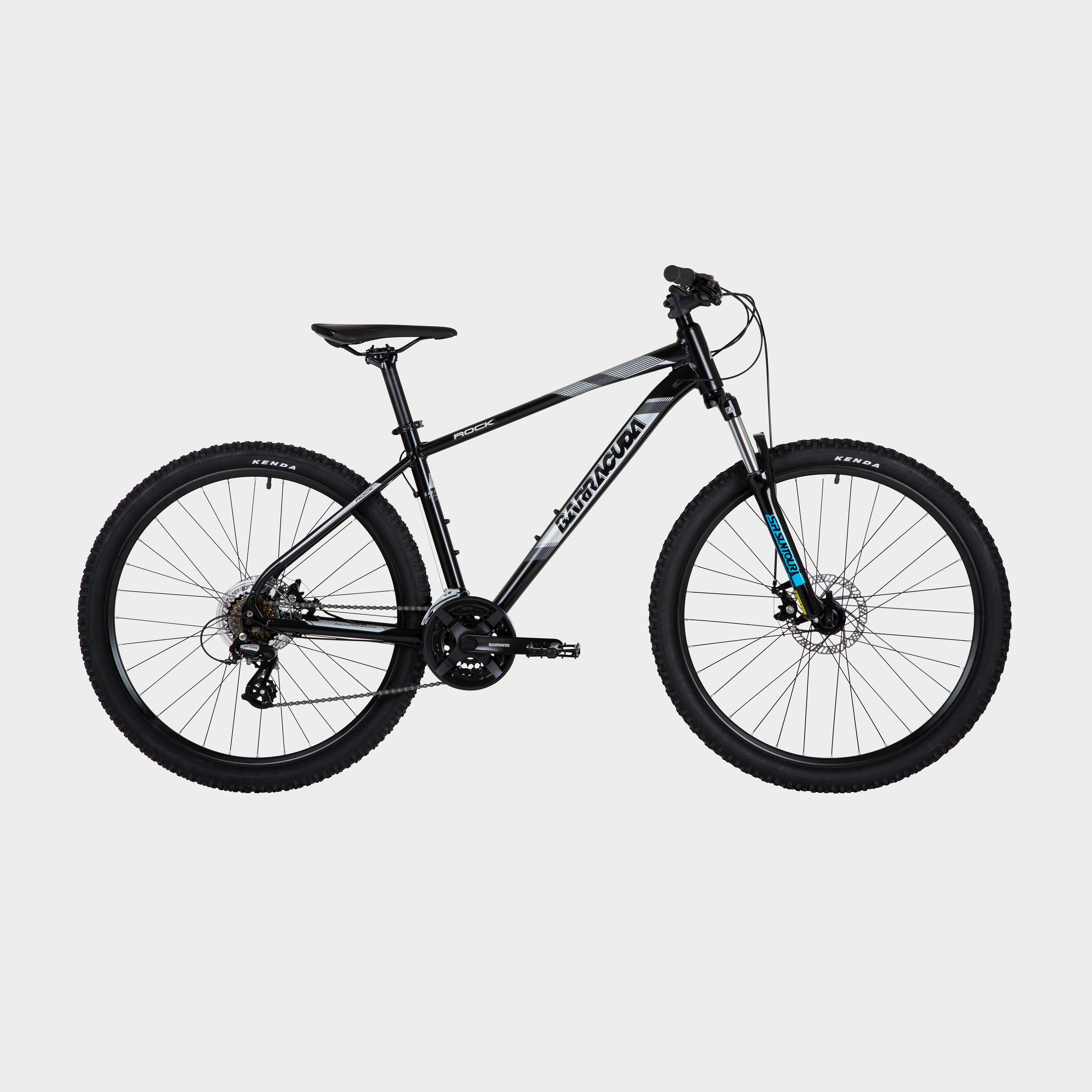 Barracuda Rock 21-speed Bike, BLACK/BLACK