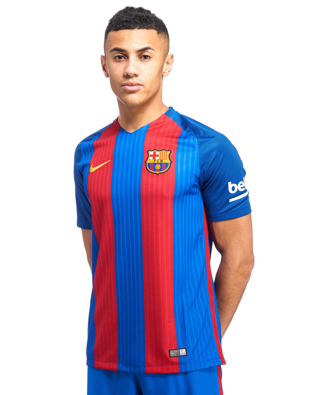 Nike Fc Barcelona Enam Tujuh Home Shirt Jd Sports