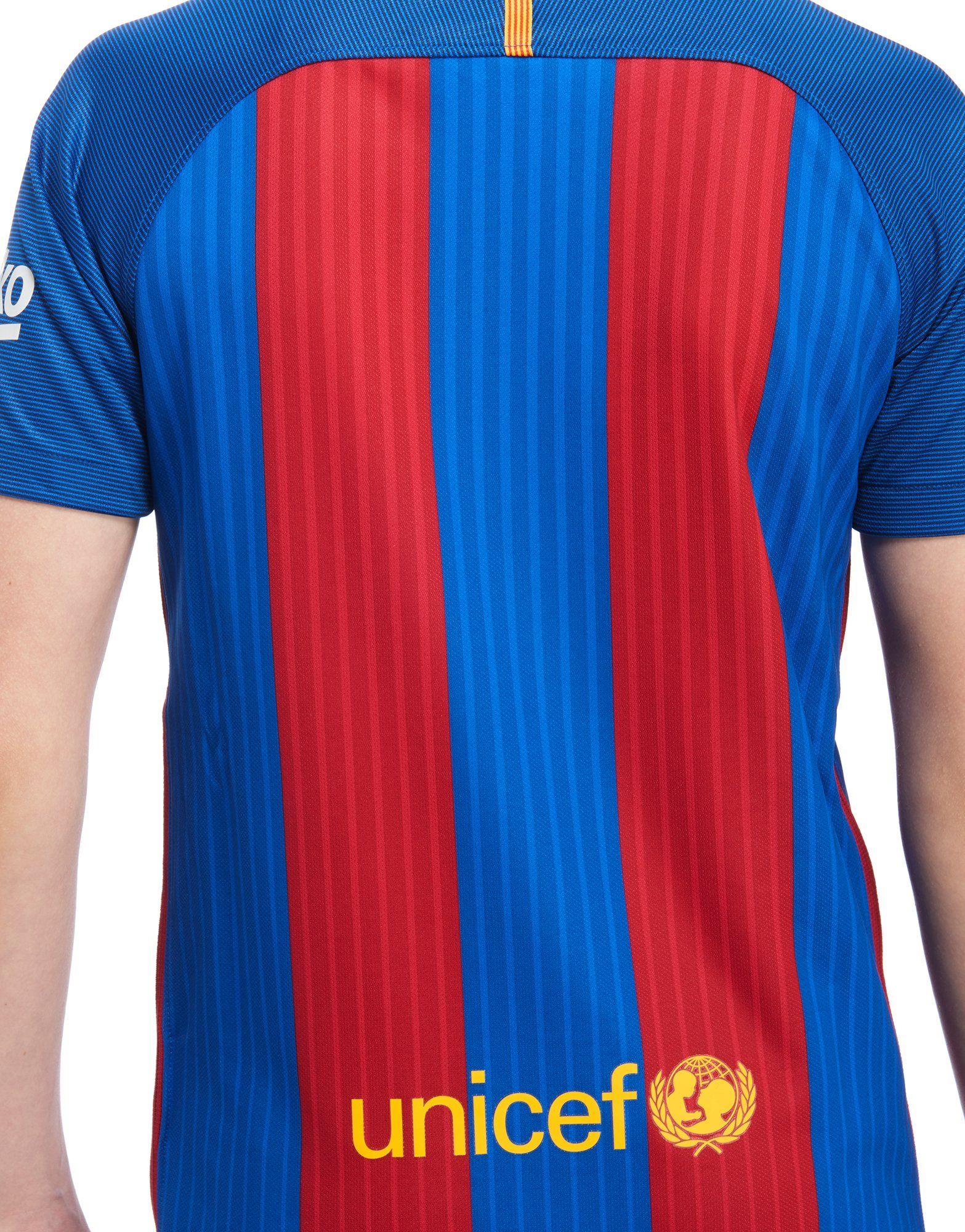 Nike Fc Barcelona  Home Shirt Junior Jd Sports
