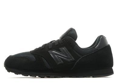 new balance black black