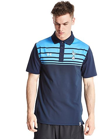 Under armour tottenham hotspur striped polo shirt jd sports for Tottenham under armour polo shirt