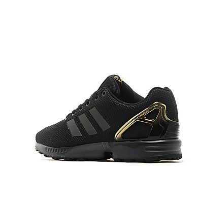 Zx Flux Adidas Black And Gold