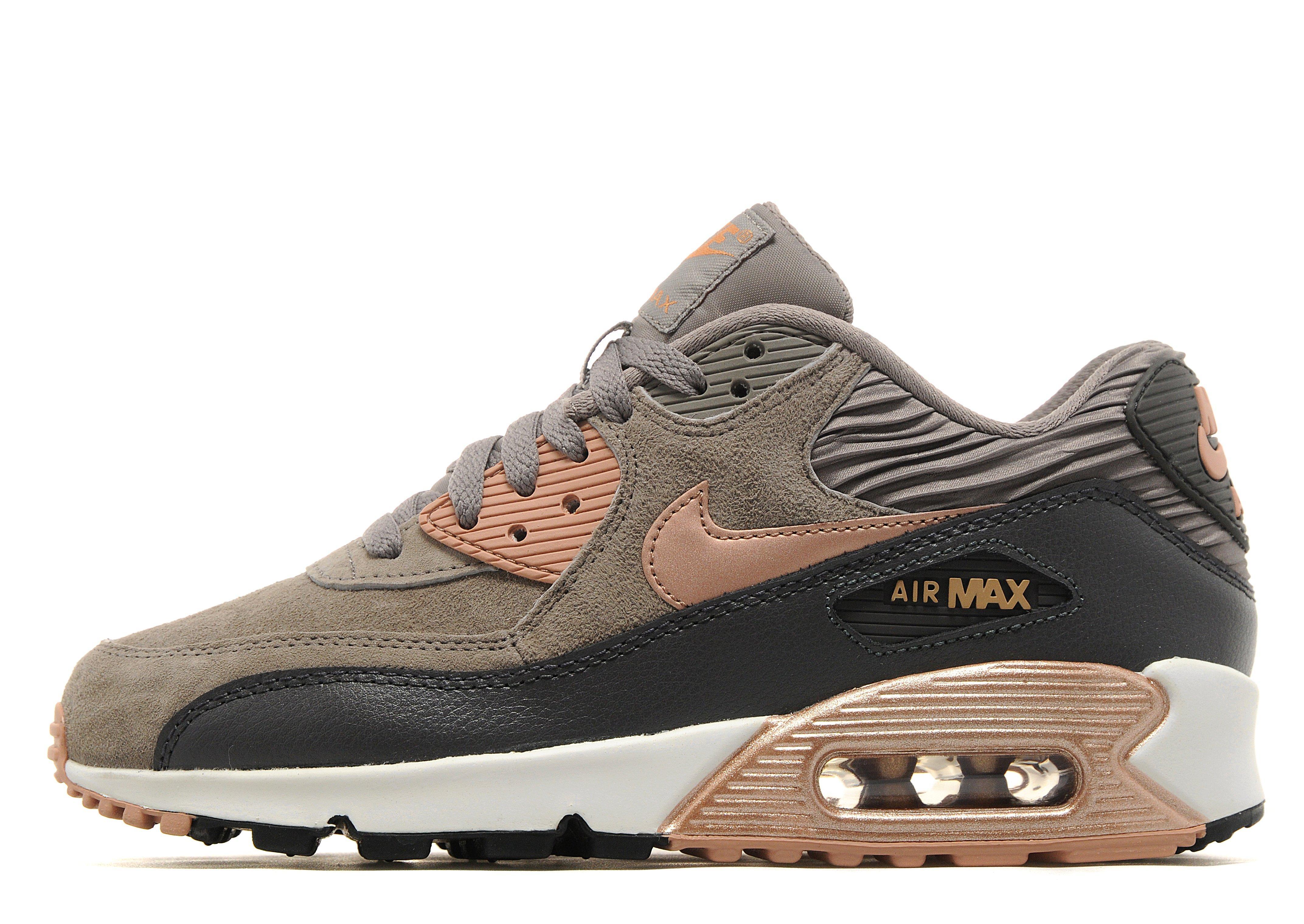 brown suede air max 90