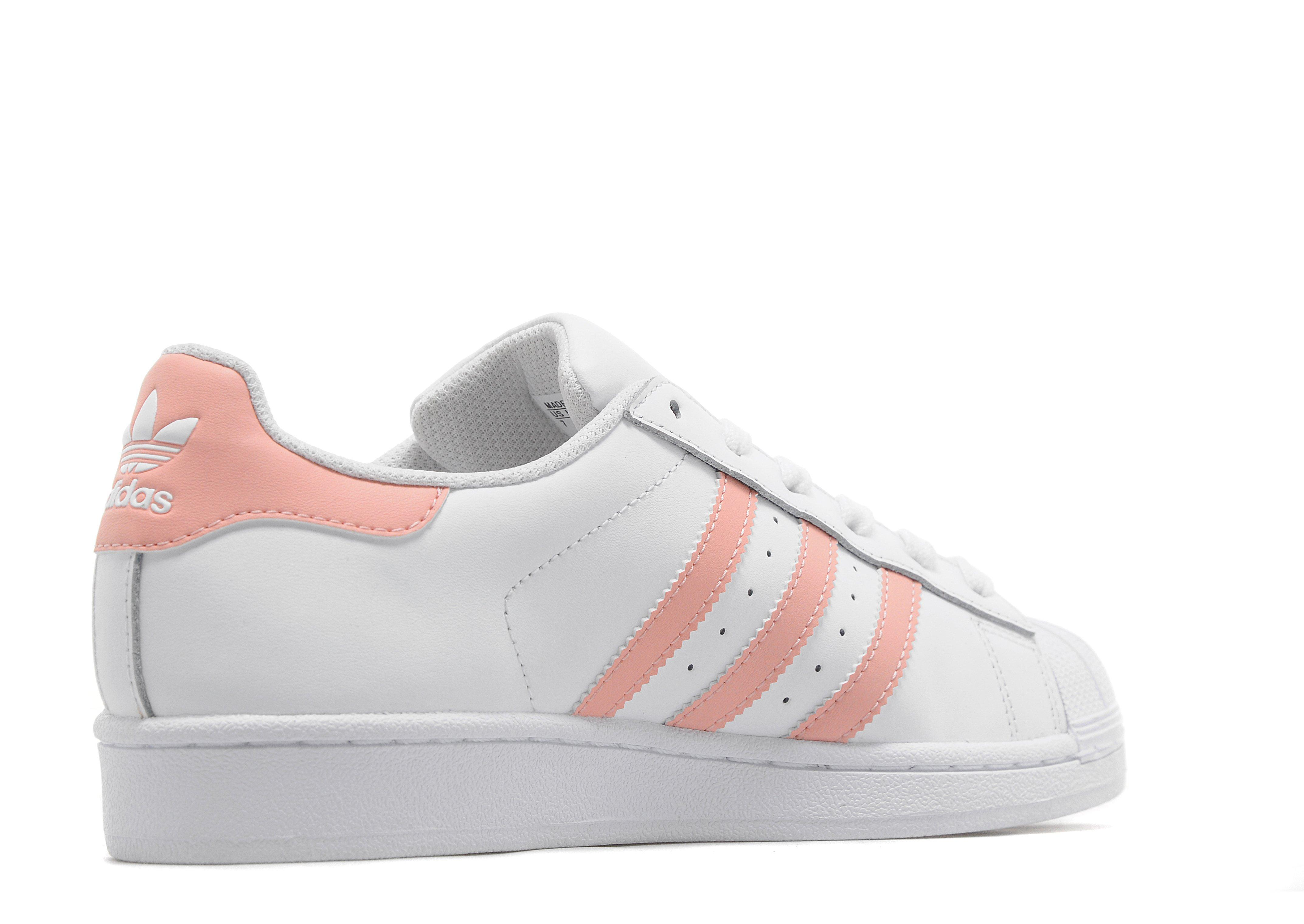 Adidas Superstar Shoes Pink Stripe Adidasoutlettrainers Co Uk