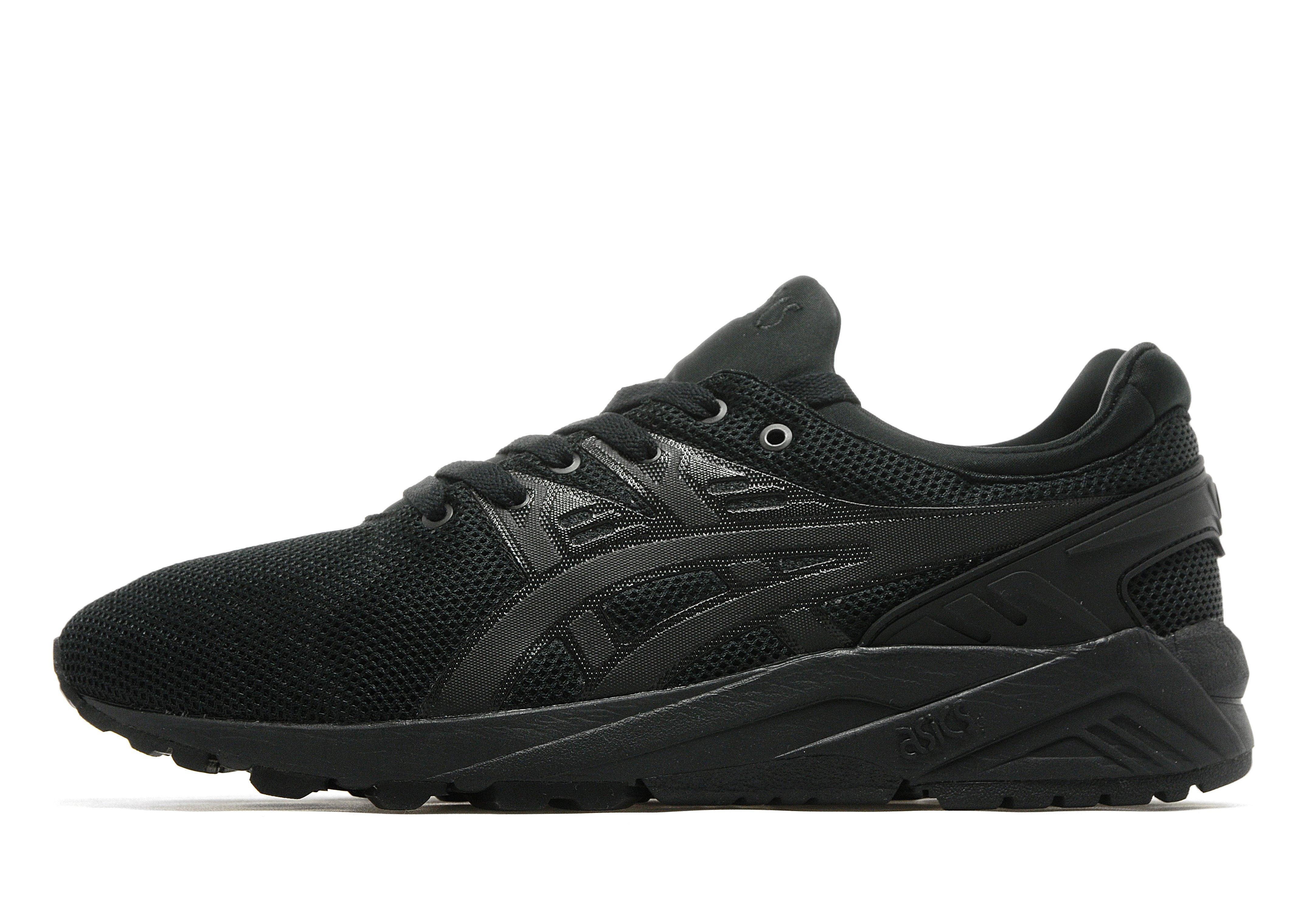 asics sneakers all black