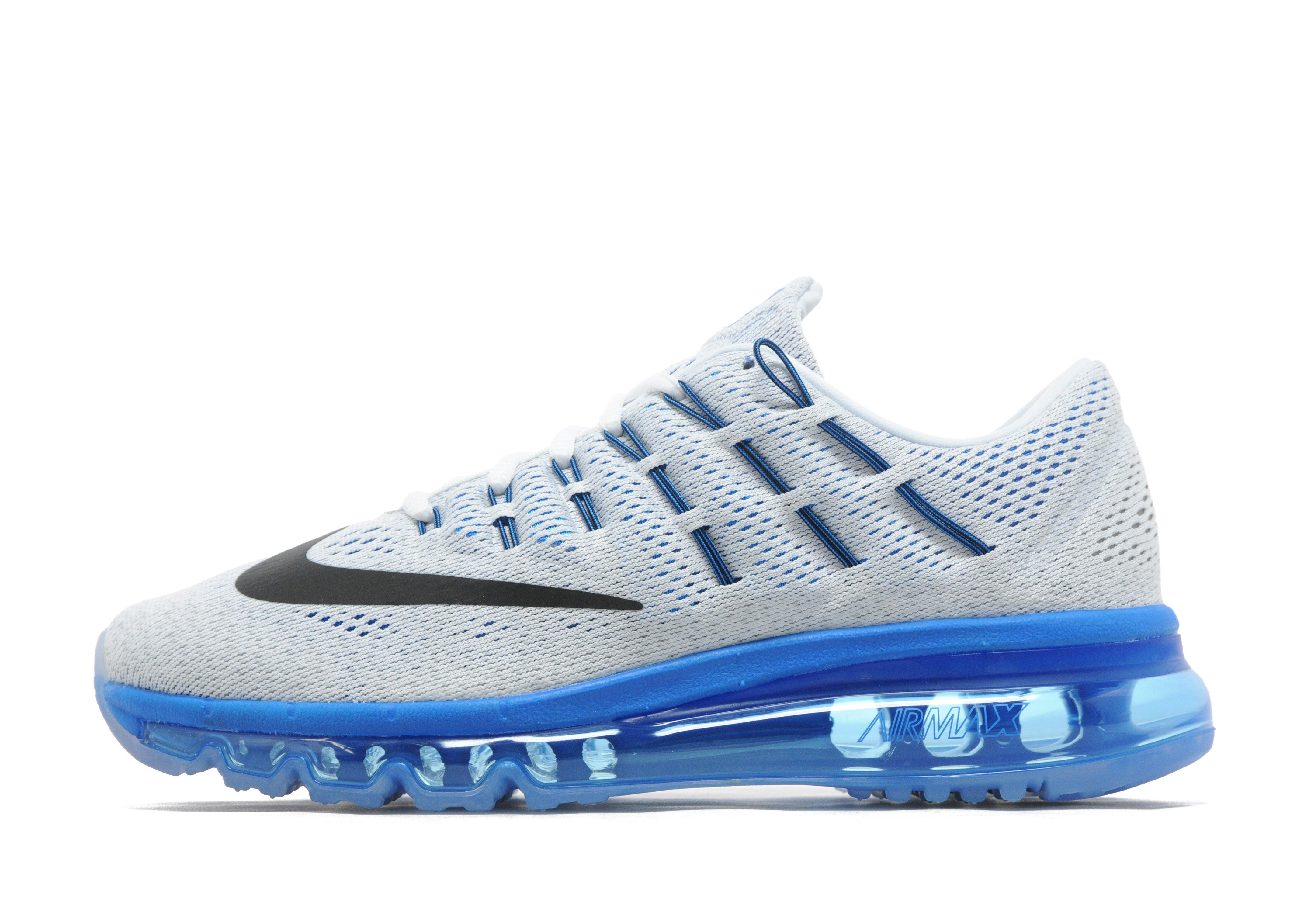 nike air max 2016 junior blauw