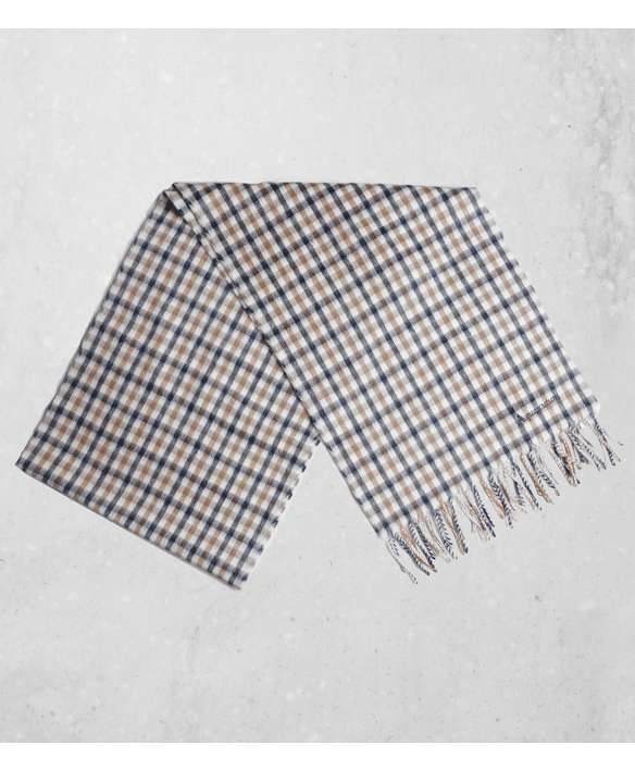 Aquascutum House Check Wool Scarf