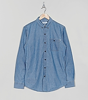 FARAH 1920 Long Sleeve Dodson Denim Shirt