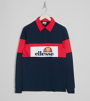 Ellesse Campari Rugby Long Sleeve Shirt