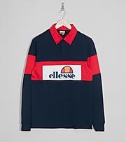 Ellesse Campari Rugby Long Sleeve Shirt