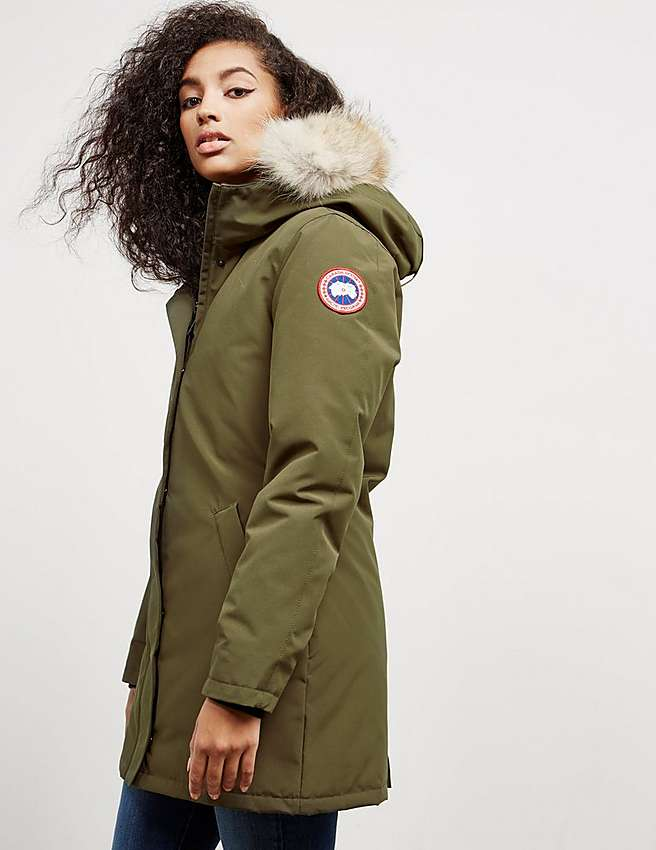 Canada Goose langford parka replica shop - Green Canada Goose Victoria Parka Jacket | Tessuti