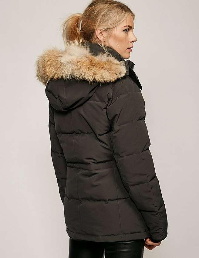 grey canada goose jacket