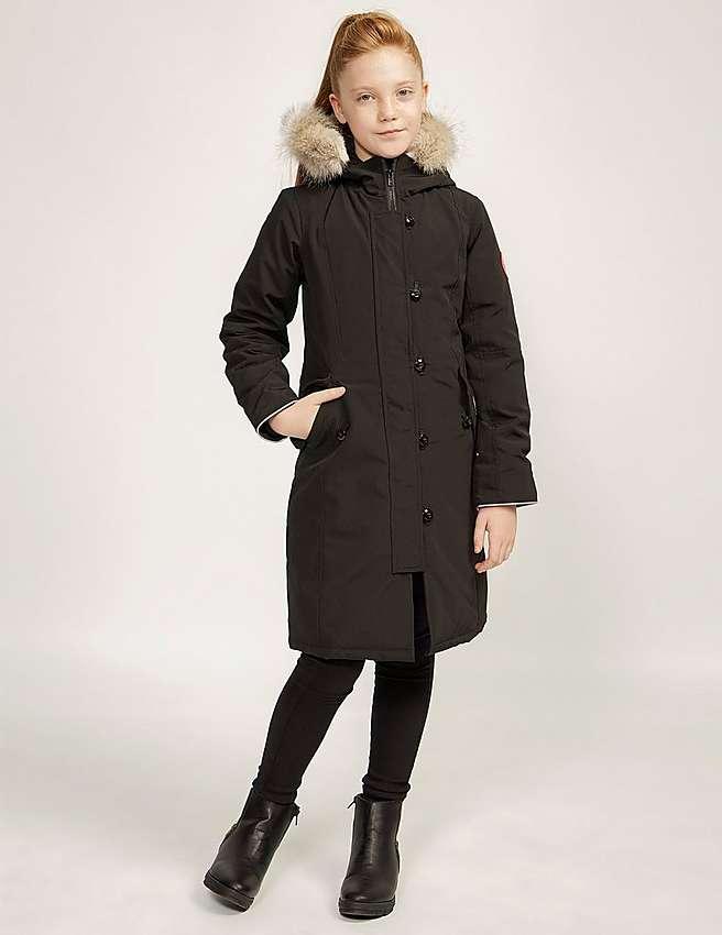 Canada Goose jackets online 2016 - Black Canada Goose Brittania Parka | Tessuti