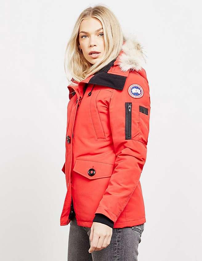 Canada Goose coats outlet discounts - Red Canada Goose Montebello Parka Jacket | Tessuti