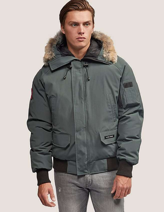 Canada Goose langford parka online official - Grey Canada Goose Chilliwack Bomber Jacket | Tessuti