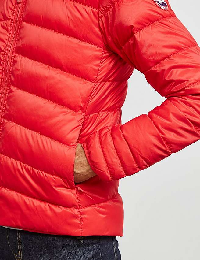 Canada Goose parka replica cheap - Red Canada Goose Brookvale Hooded Jacket | Tessuti