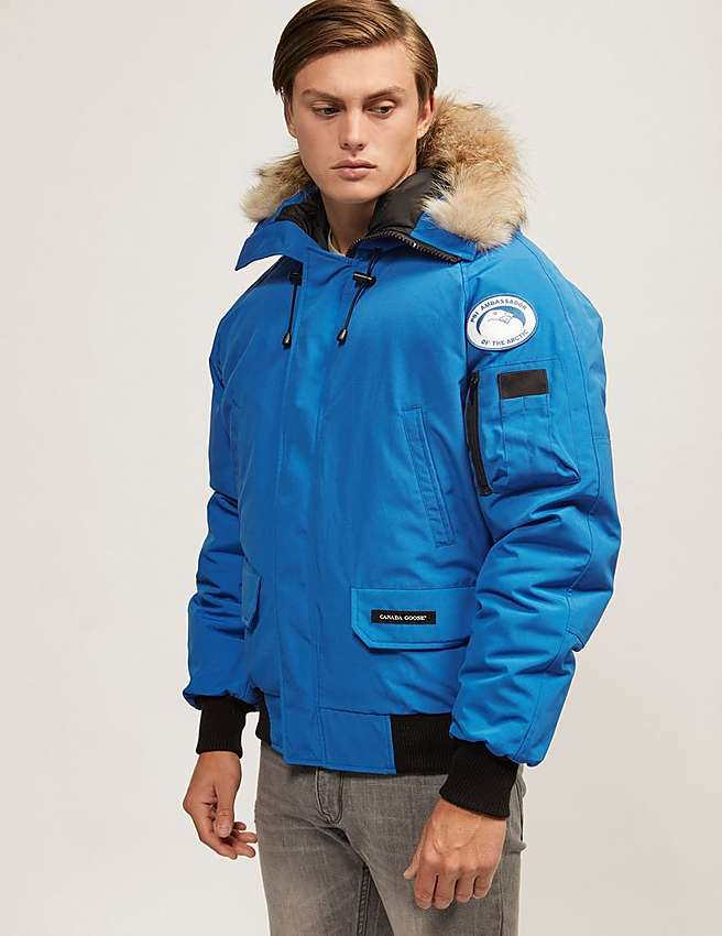 Canada Goose jackets replica authentic - Blue Canada Goose Chilliwack PBI Bomber Jacket | Tessuti