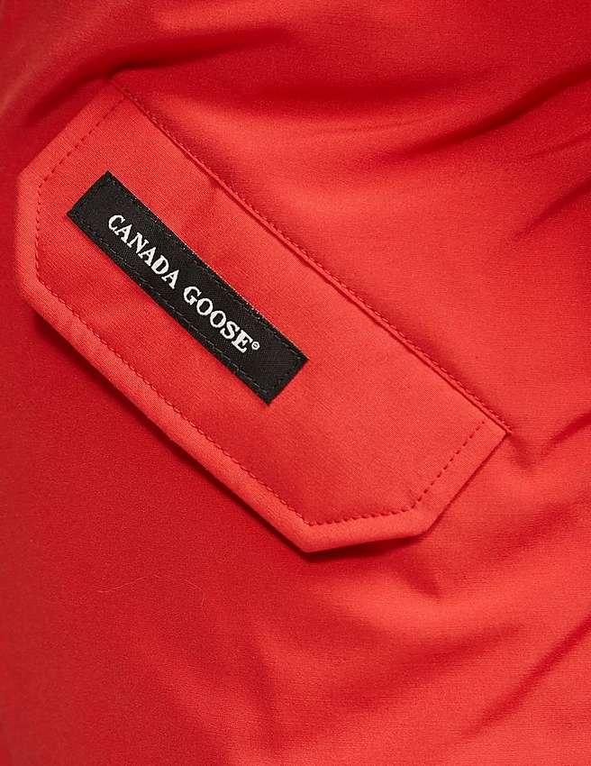 Canada Goose toronto outlet shop - Red Canada Goose Kids' Rundle Bomber | Tessuti
