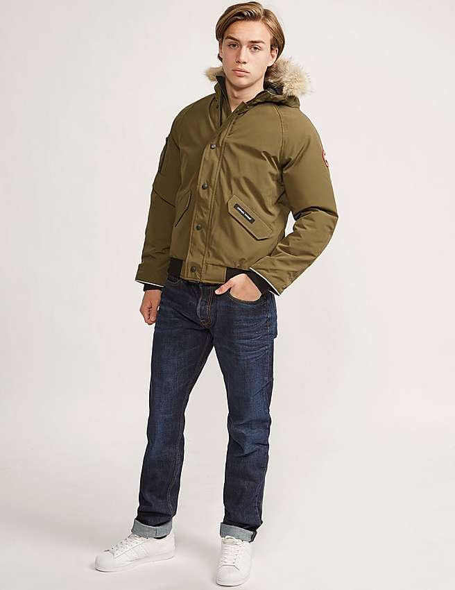 Canada Goose hats outlet fake - Green Canada Goose Kids' Rundle Bomber | Tessuti