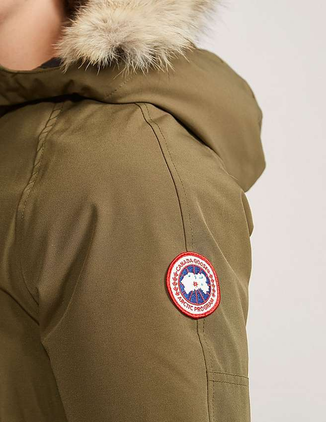 Canada Goose chateau parka outlet 2016 - Green Canada Goose Kids' Rundle Bomber | Tessuti