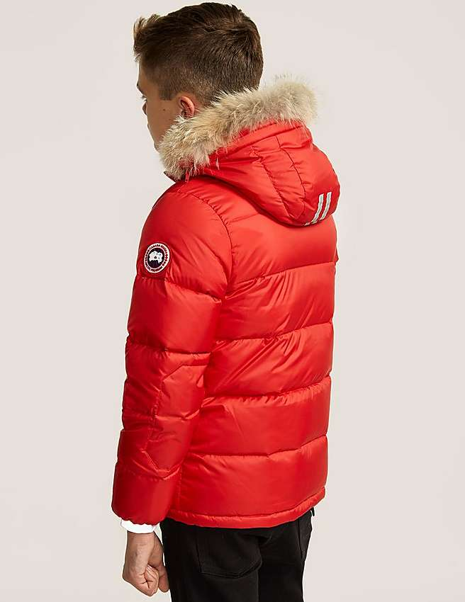 Canada Goose chateau parka sale authentic - Red Canada Goose Kids' Oliver Jacket | Tessuti