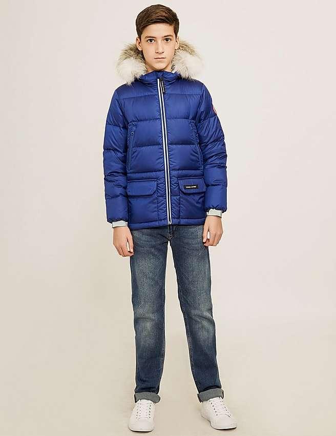 Canada Goose vest outlet authentic - Blue Canada Goose Kids' Oliver Jacket | Tessuti
