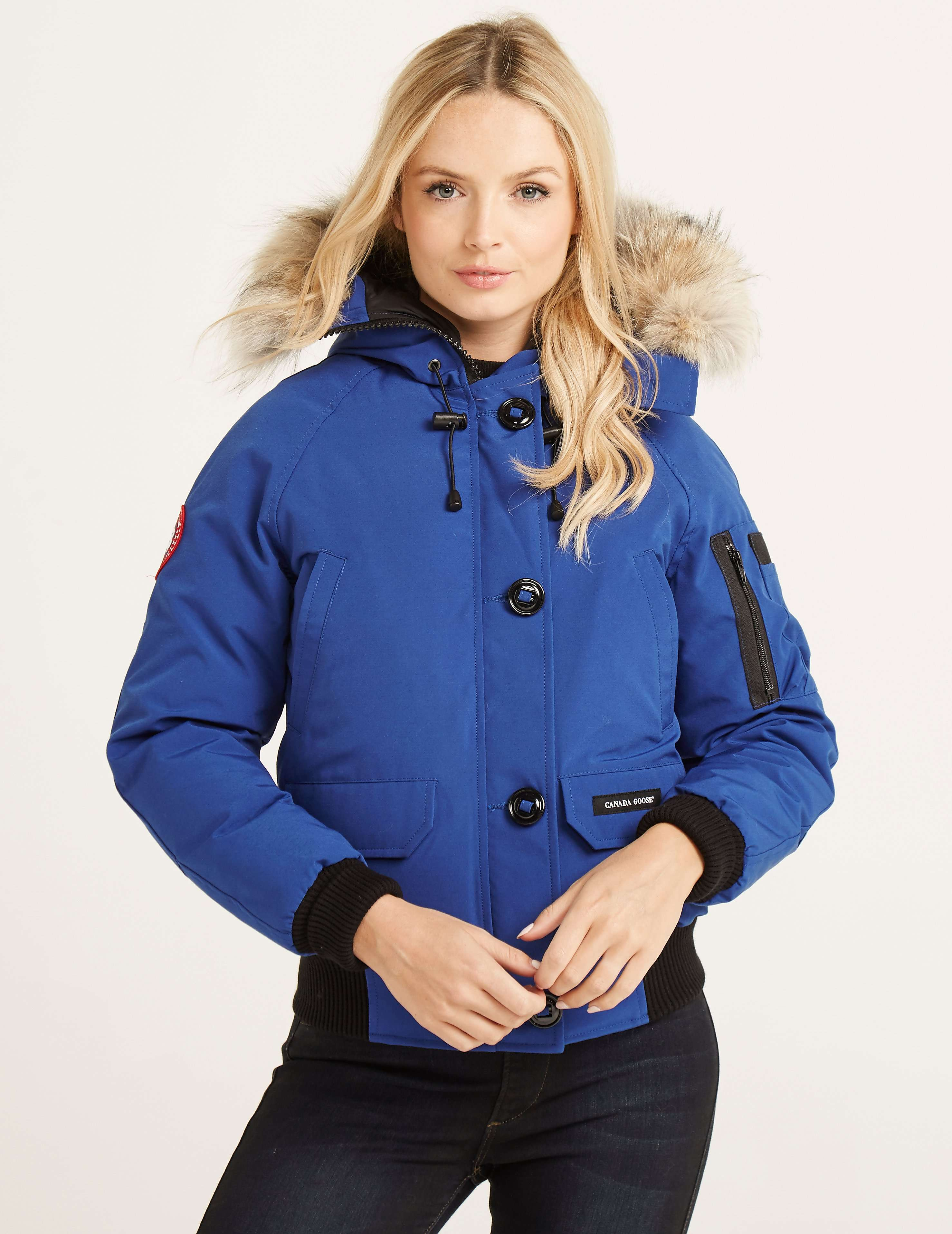 Canada Goose coats sale fake - Blue Canada Goose Chilliwack Bomber | Tessuti