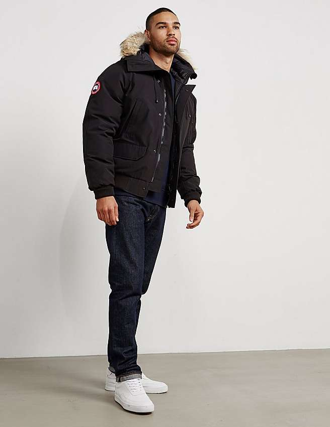 men canada goose chilliwack bomber black