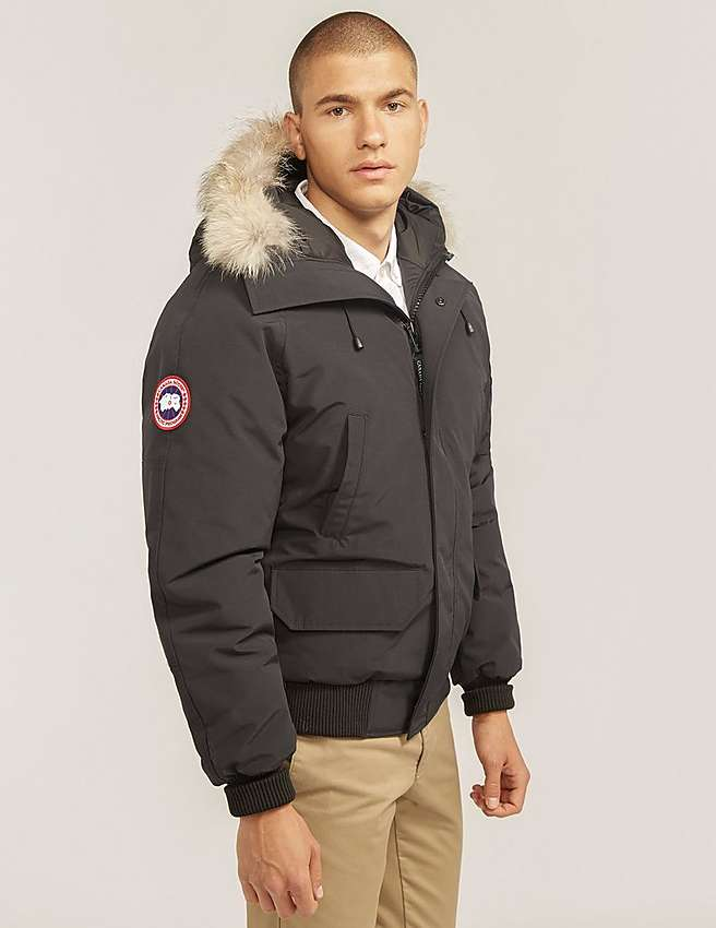 Canada Goose jackets outlet authentic - Blue Canada Goose Chilliwack Bomber Jacket | Tessuti
